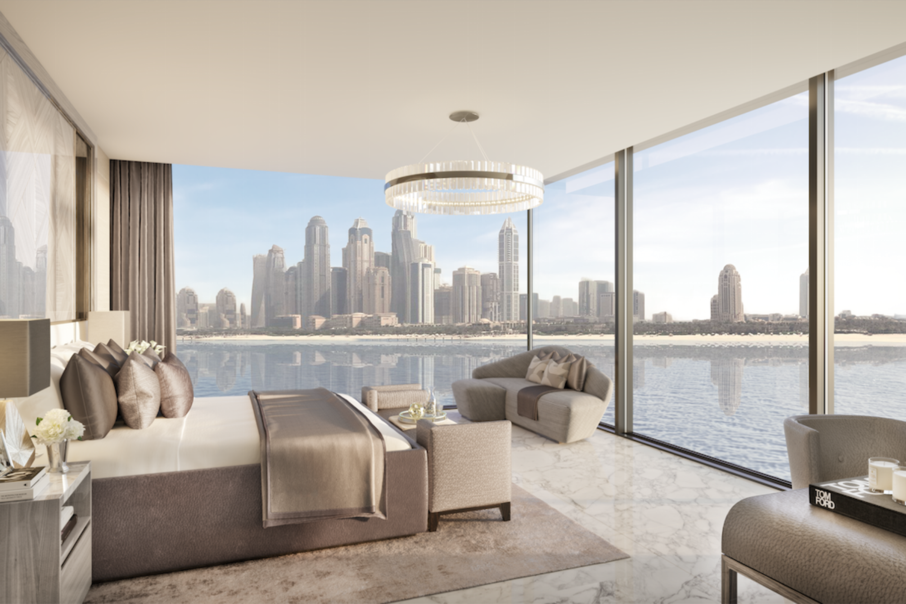 Apartment for Active at Full Sea View Penthouse in ONE Palm Project Palm Jumeirah One Palm Dubai, Dubai 00000 United Arab Emirates