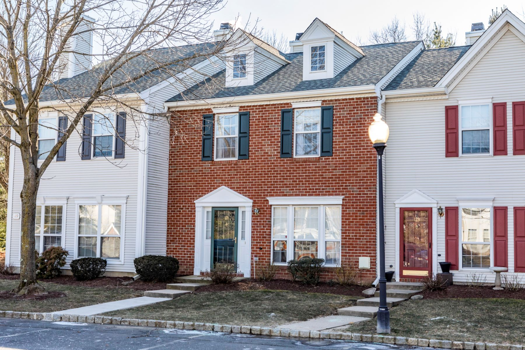 Townhouse for Sale at Cozy And Comfortable In Brandon Farms 121 Shrewsbury Court, Pennington, New Jersey 08534 United StatesMunicipality: Hopewell Township