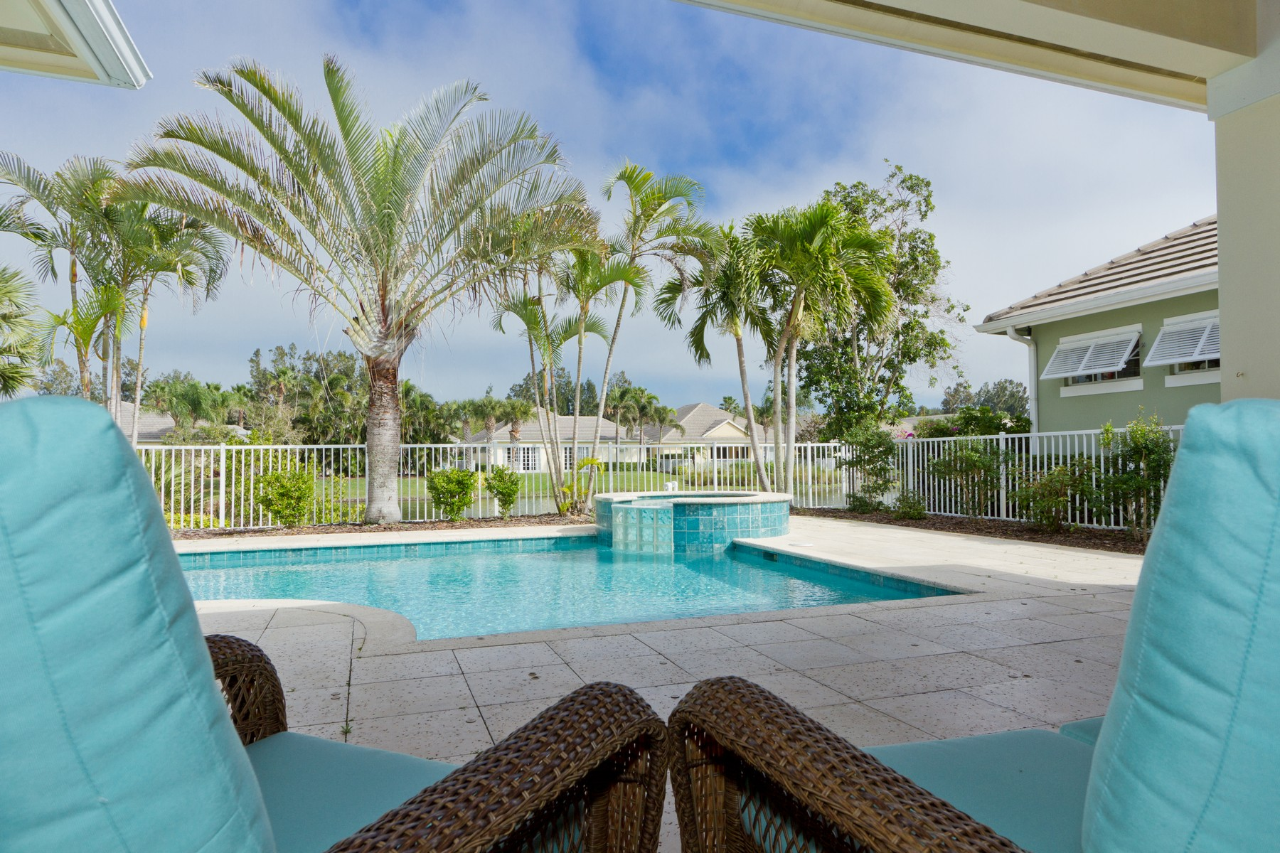 Single Family Home for Sale at West Indies Lakefront Beauty 9170 Seasons Terrace Vero Beach, Florida 32963 United States