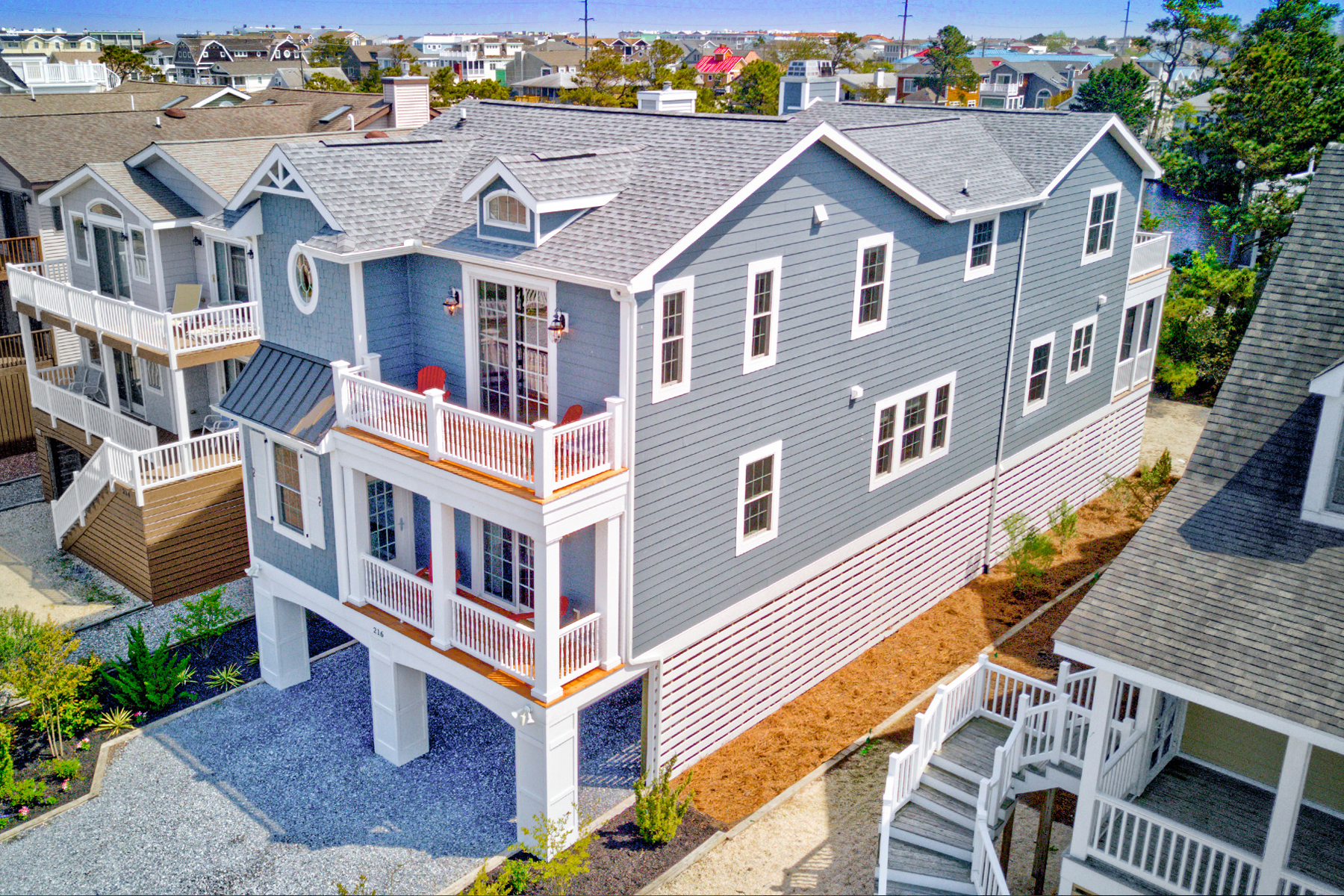 Single Family Homes for Active at 216 2nd Street Bethany Beach, Delaware 19930 United States