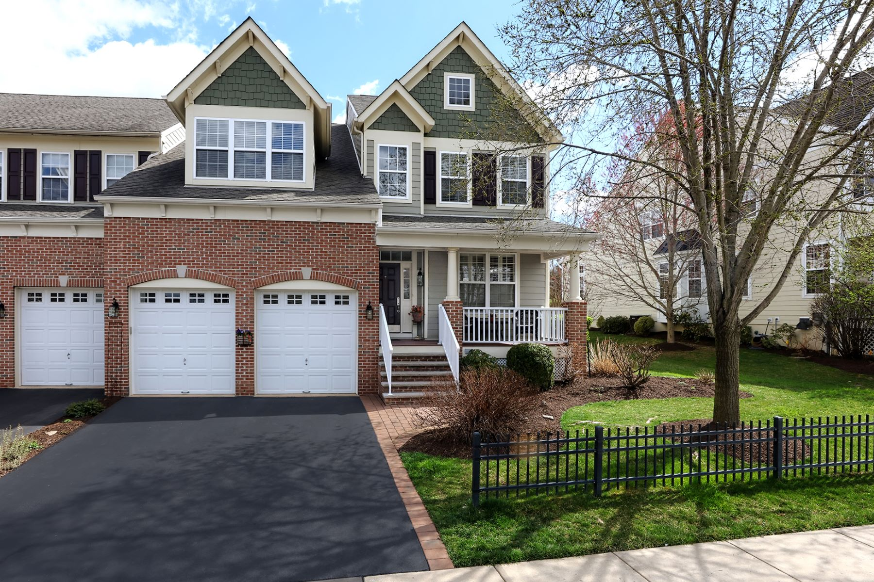 Townhouse for Sale at Live It Up In Lambert's Hill 242 Holcombe Way, Lambertville, New Jersey 08530 United StatesMunicipality: Lambertville