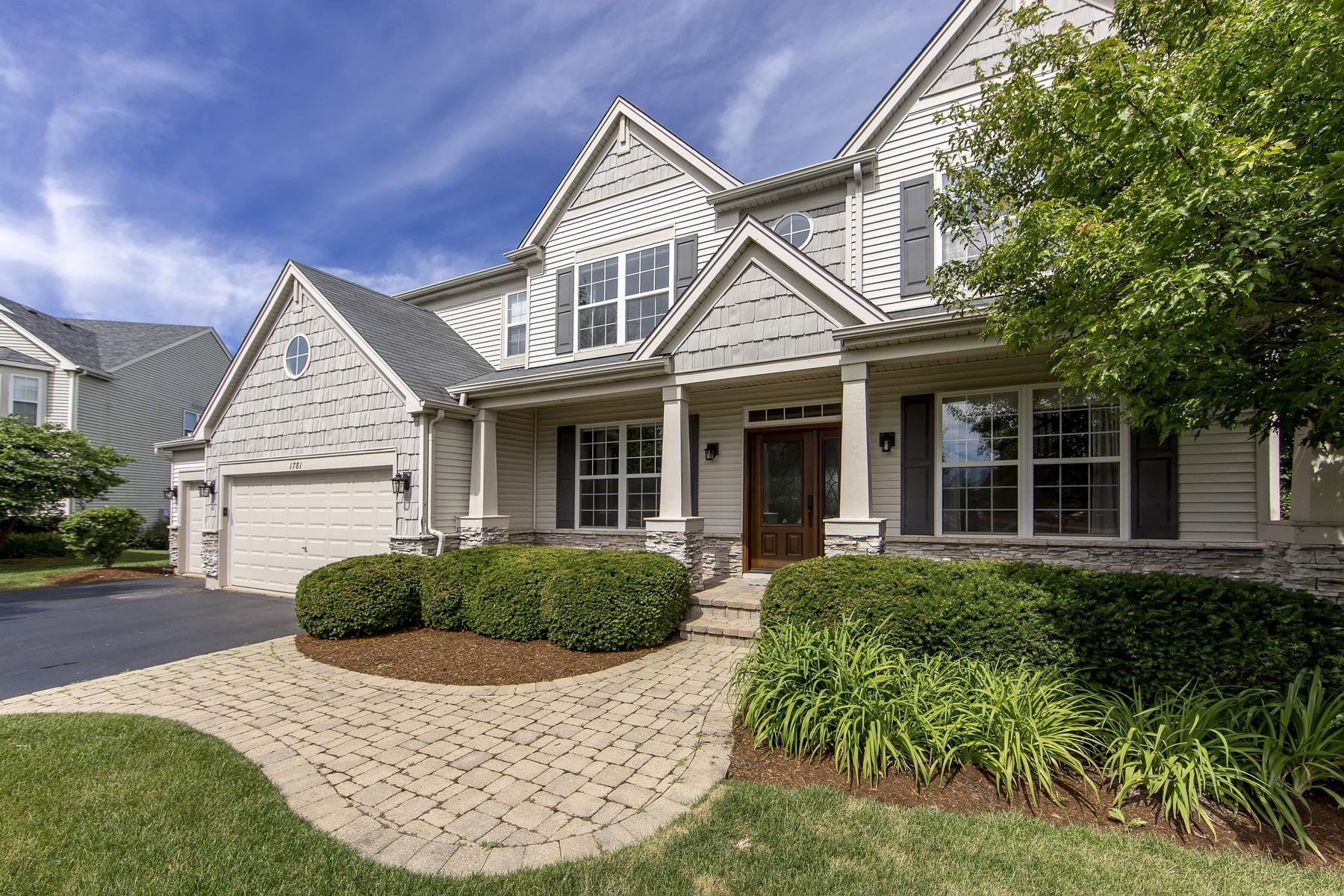 Maison unifamiliale pour l Vente à Expanded Family Home 1781 Napa Suwe Court Wauconda, Illinois, 60084 États-Unis