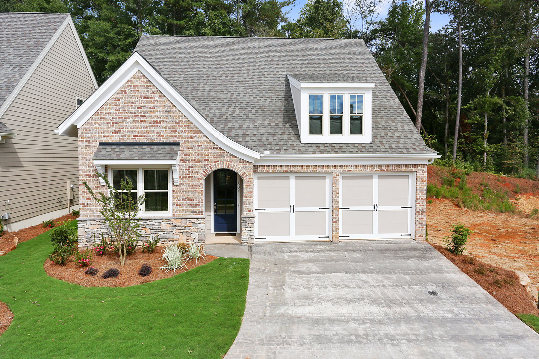 Single Family Home for Sale at Enjoy Luxury Maintenance Free Living 341 Little Pine Lane Woodstock, Georgia 30188 United States