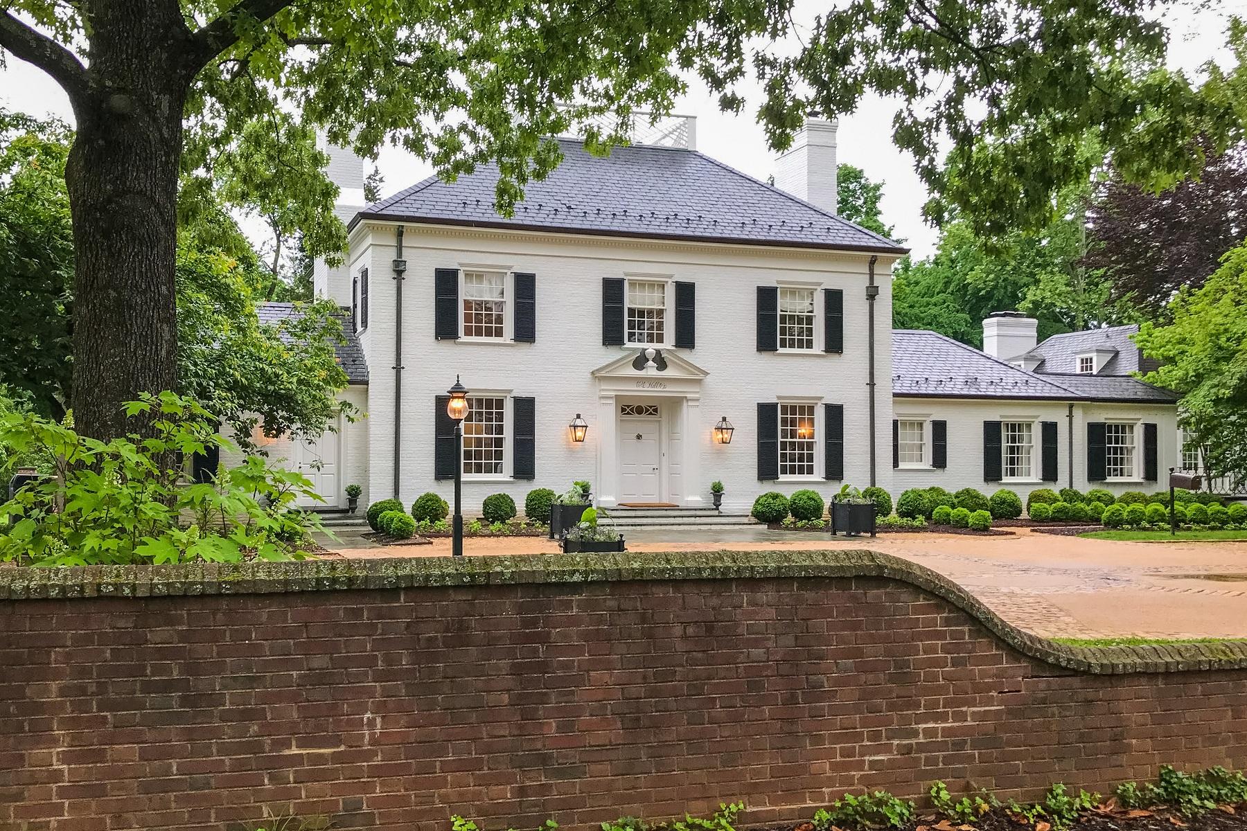 一戸建て のために 売買 アット Barkley-Sherman House 1124 Hilltop Road Charlottesville, バージニア, 22903 アメリカ合衆国