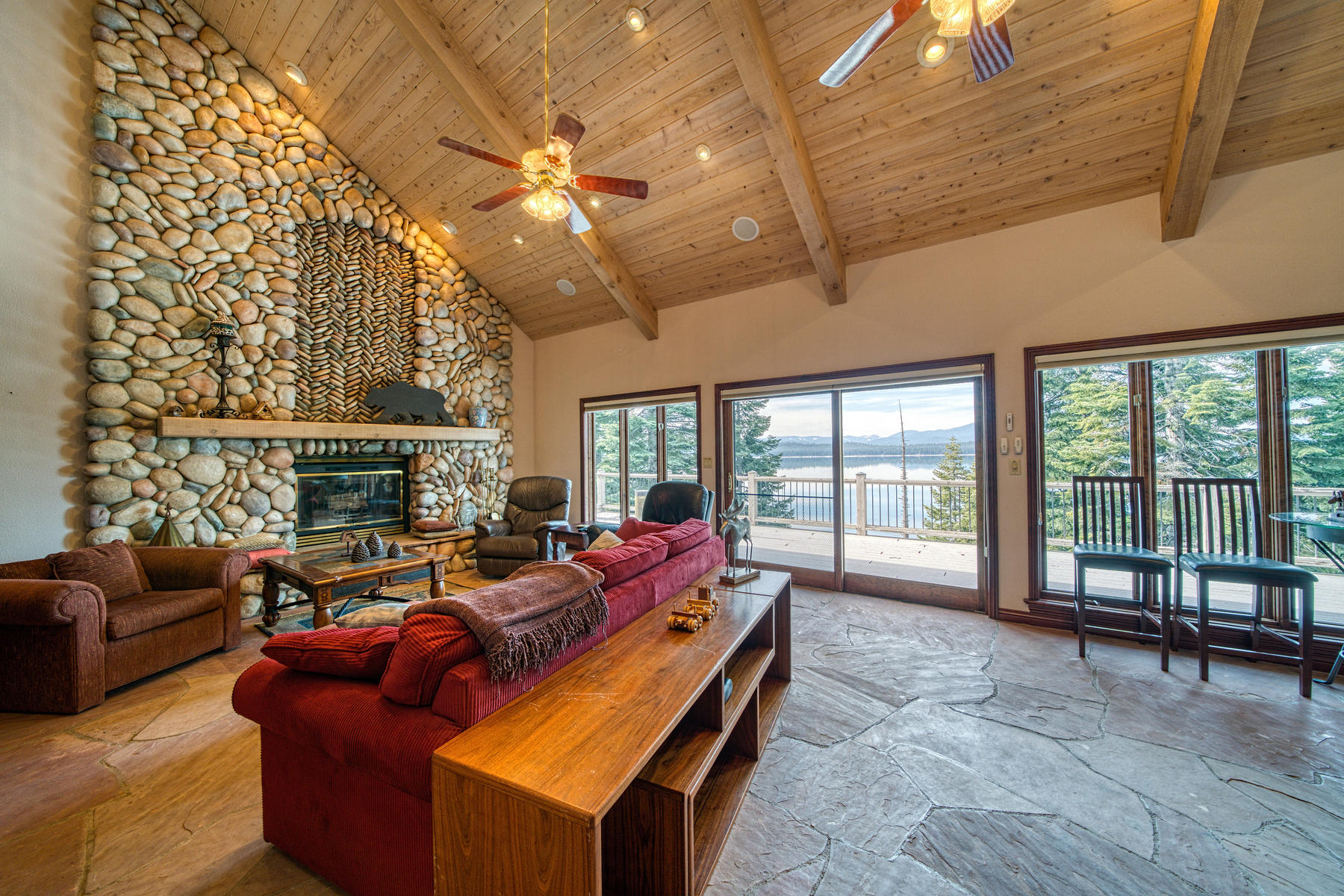 Single Family Homes for Active at Beautiful lake front home 925 Lassen View Drive Lake Almanor, California 96137 United States