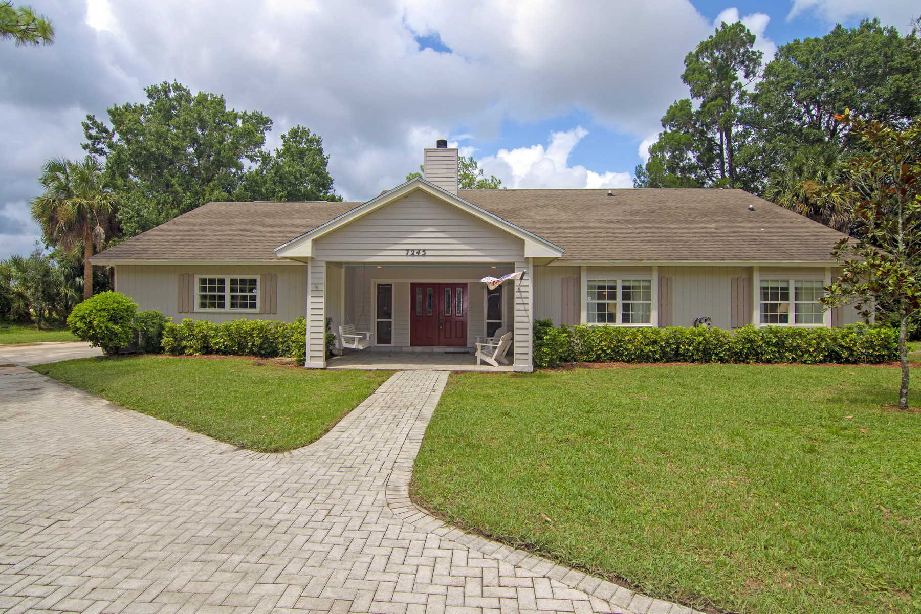 Property for Sale at PARADISE ON 5 ACRES WITH DETACHED SHOP 7245 18th Street Vero Beach, Florida 32966 United States