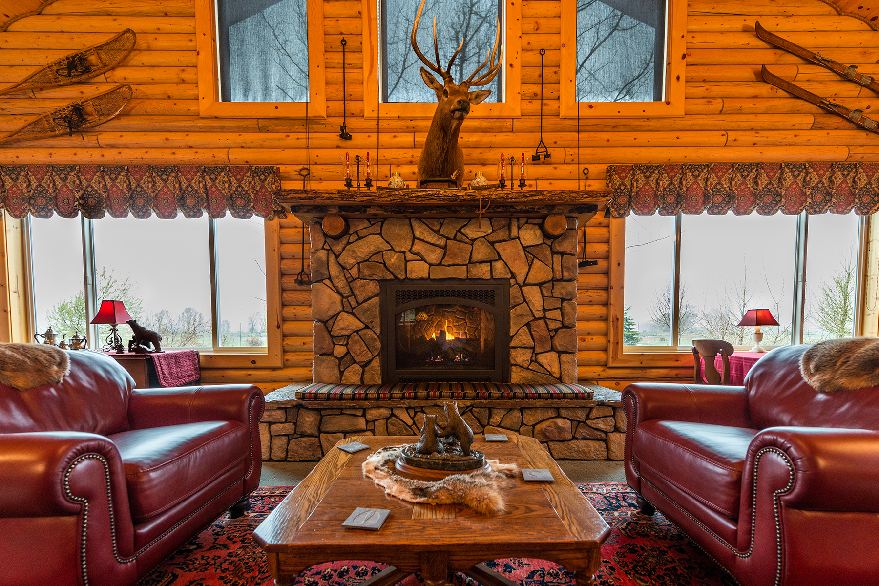 Single Family Home for Sale at Old Irwin Lodge 1591 Old Irwin Rd Irwin, Idaho IWRIN United States