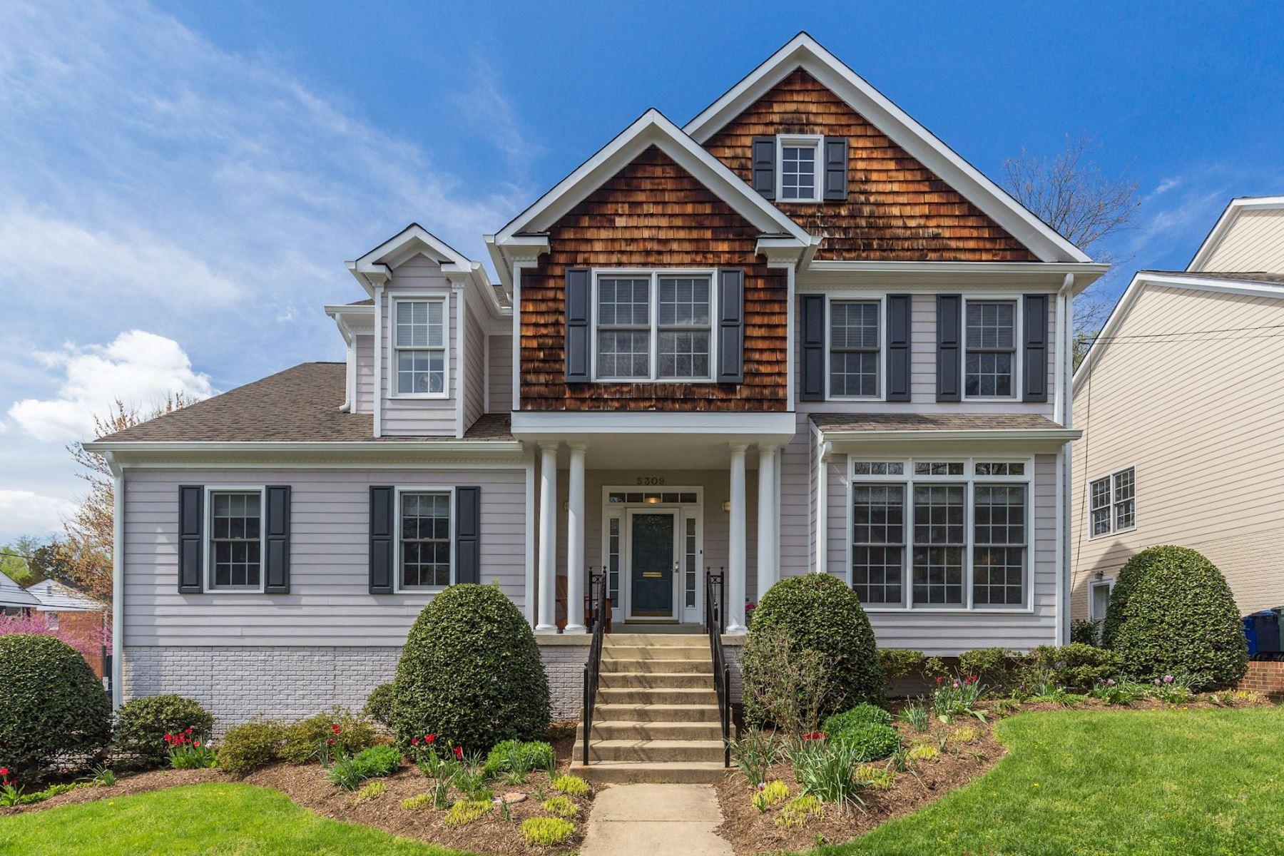 Maison unifamiliale pour l Vente à 5309 Cushing Place Nw, Washington Washington, District De Columbia, 20016 États-Unis