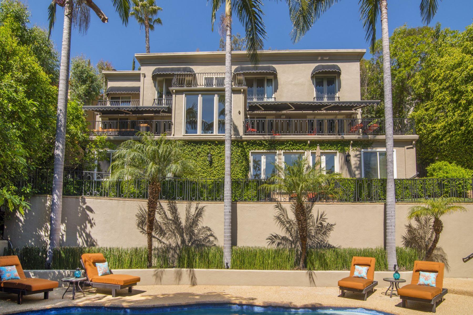 단독 가정 주택 용 매매 에 2501 Bowmont Dr Beverly Hills, 캘리포니아, 90210 미국