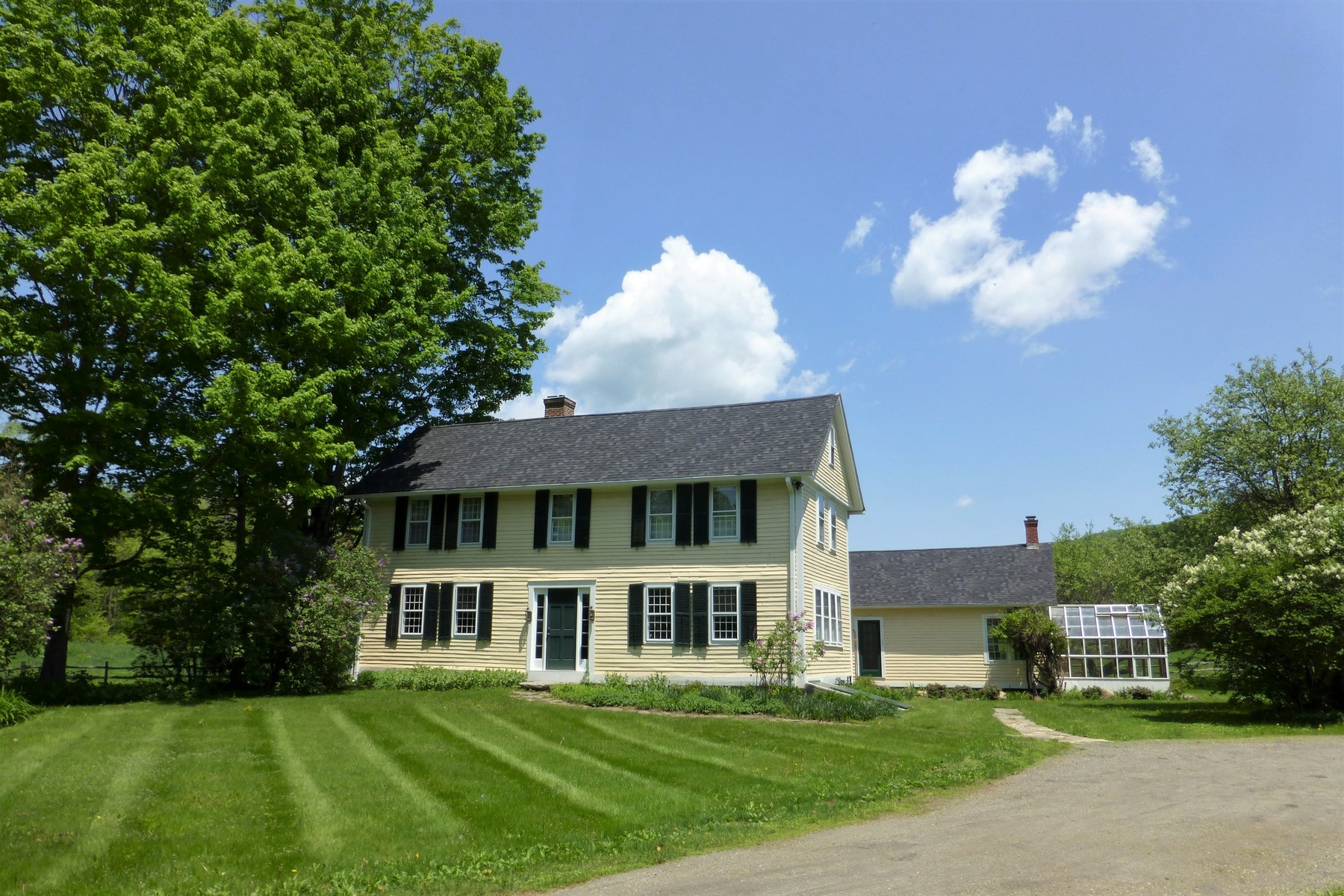 Single Family Home for Sale at Stunning Historic Home on Acreage 872 Grassy Brook Rd Brookline, Vermont 05345 United States