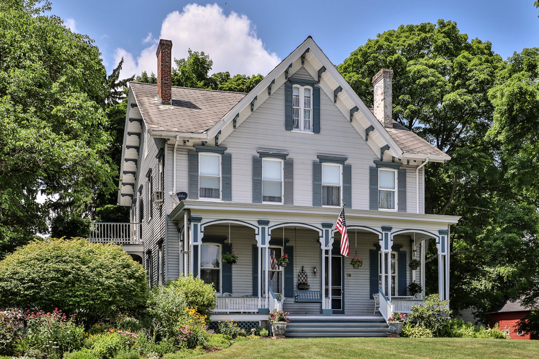 Single Family Homes for Sale at Hambletonian House 19 High Street Chester, New York 10918 United States