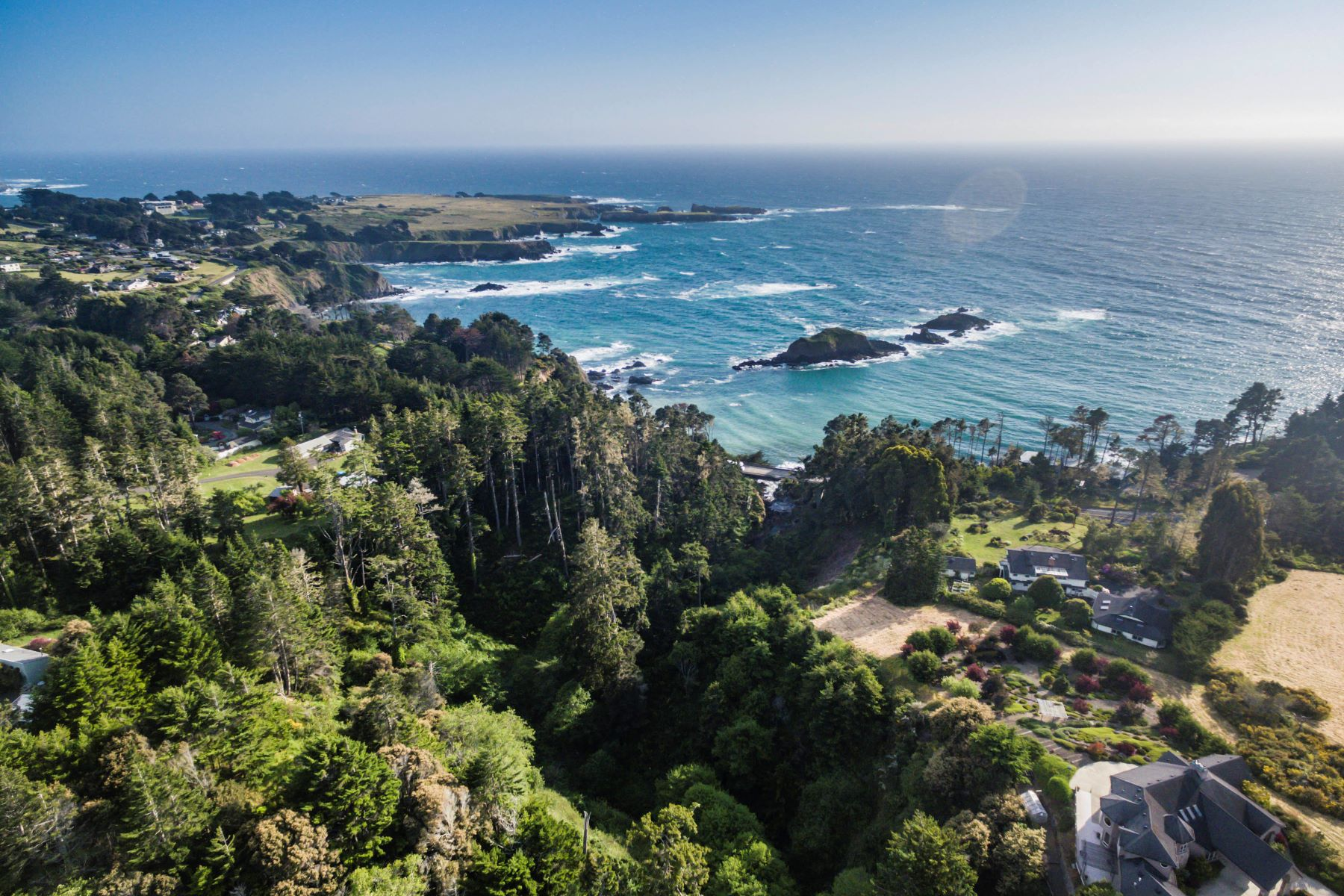 Land for Sale at Surfwood IV Oceanview Parcel 44761 Baywood Drive Mendocino, California 95460 United States