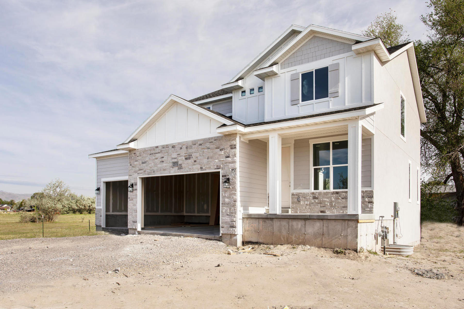 Single Family Homes 용 매매 에 Beautiful Brand New Home That is Ready to Go! 271 East 570 South Lot 1, Lehi, 유타 84043 미국