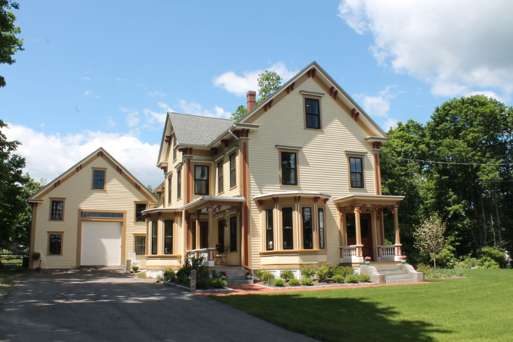 Single Family Home for Sale at Meticulously Restored and Renovated! 4 Graniteville Road Westford, Massachusetts 01886 United States