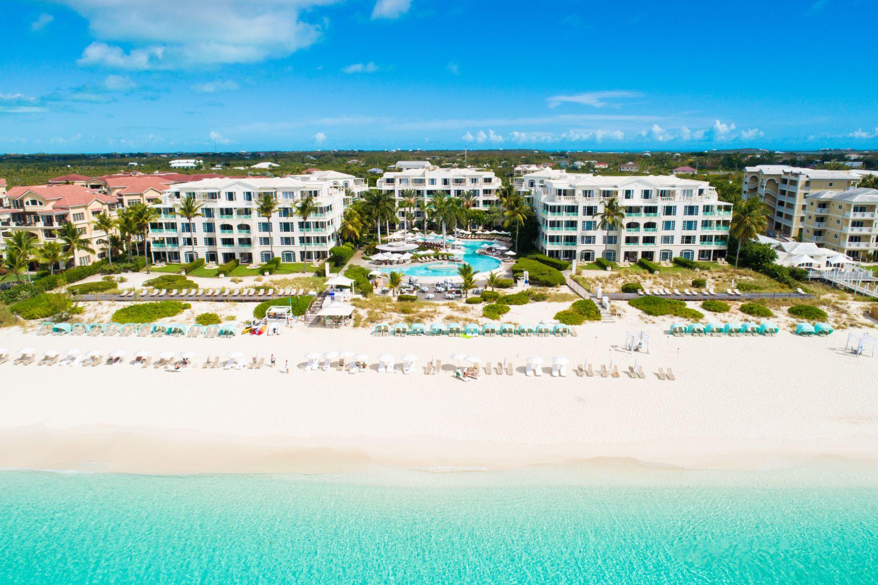 콘도미니엄 용 매매 에 The Palms - Suite 1408.09.10 Beachfront, Grace Bay, 프로비덴시알레스섬, TKCA 1ZZ 터크스 케이커스 제도