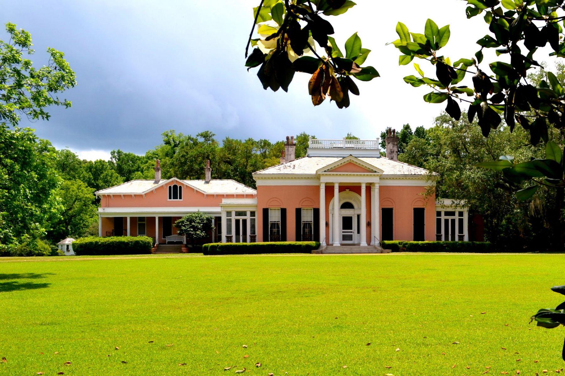 single family homes для того Продажа на 200 Liberty Rd, Natchez 200 Liberty Rd Natchez, Миссисипи 39120 Соединенные Штаты