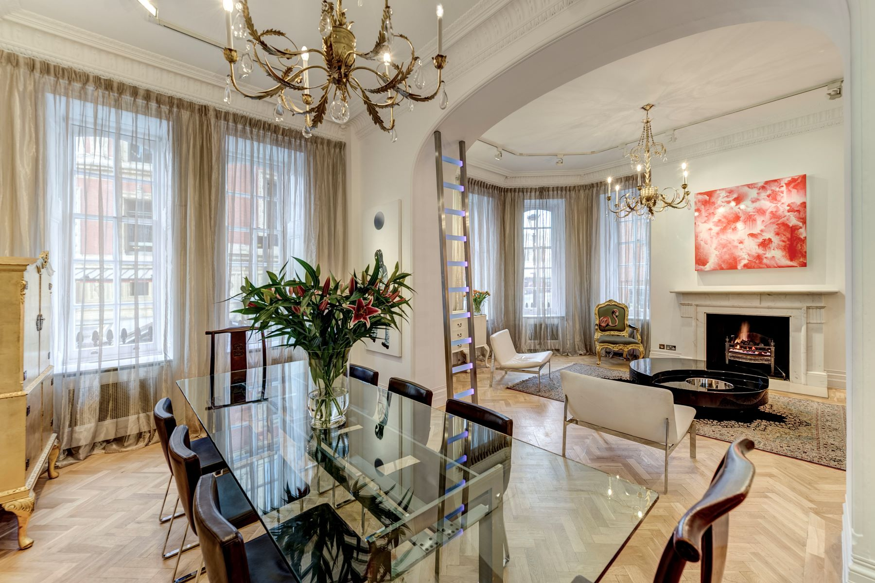 Apartment for Sale at Albert Hall Mansions, Kensington Gore London, England, United Kingdom