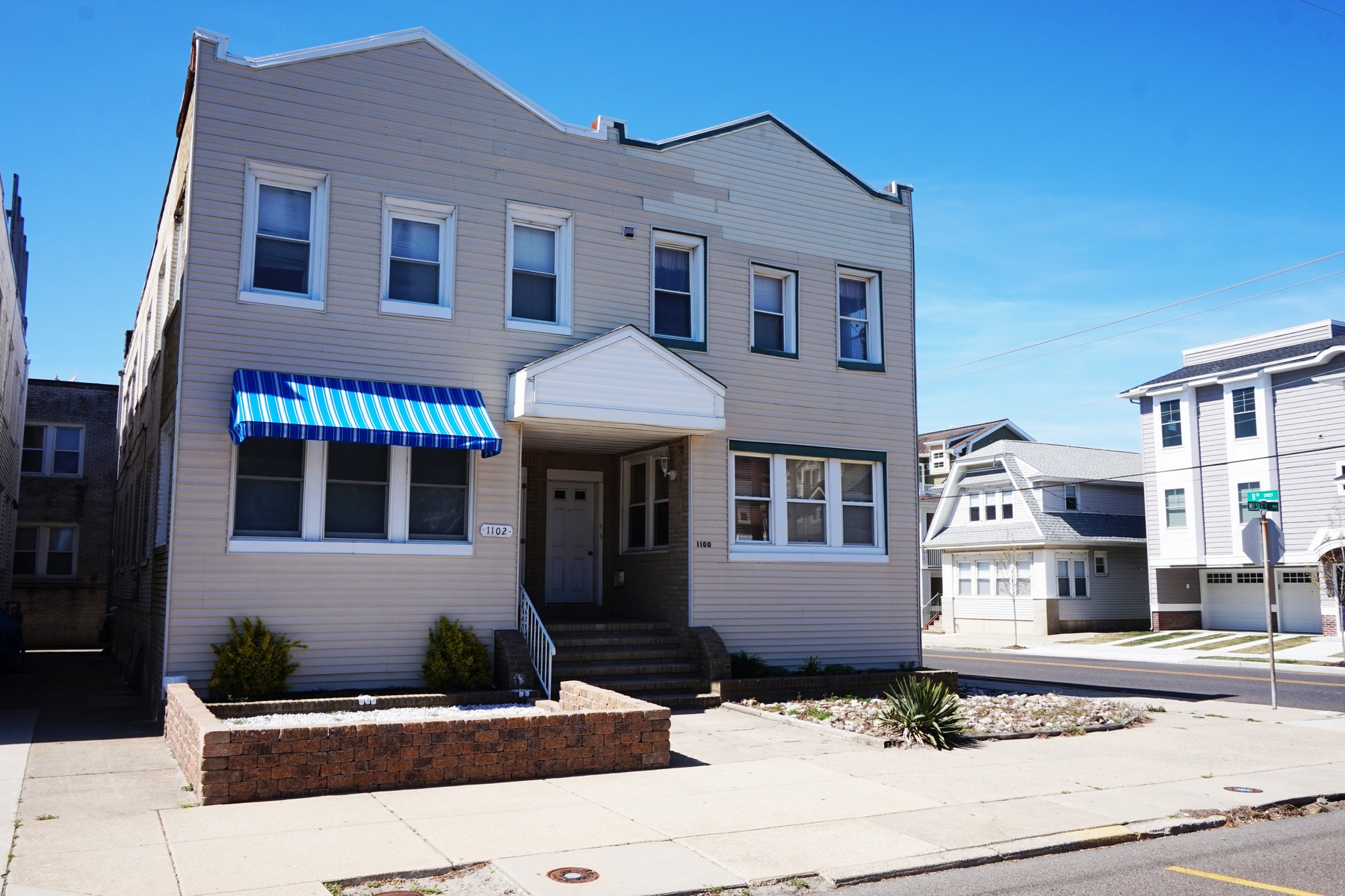 Condominium for Sale at Two Short Blocks to the Beach 1100 Wesley Avenue 2nd Floor Ocean City, New Jersey 08226 United States