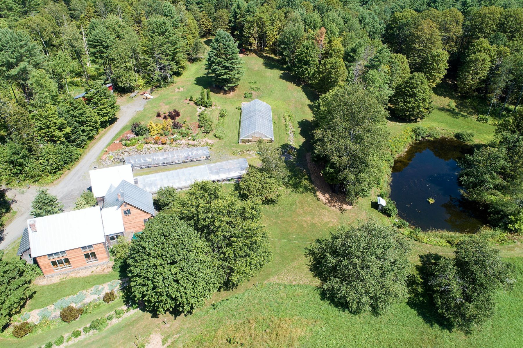 Single Family Homes for Sale at Contemporay on 160 Acres in Brookfield 501 Kibbee Rd Brookfield, Vermont 05036 United States