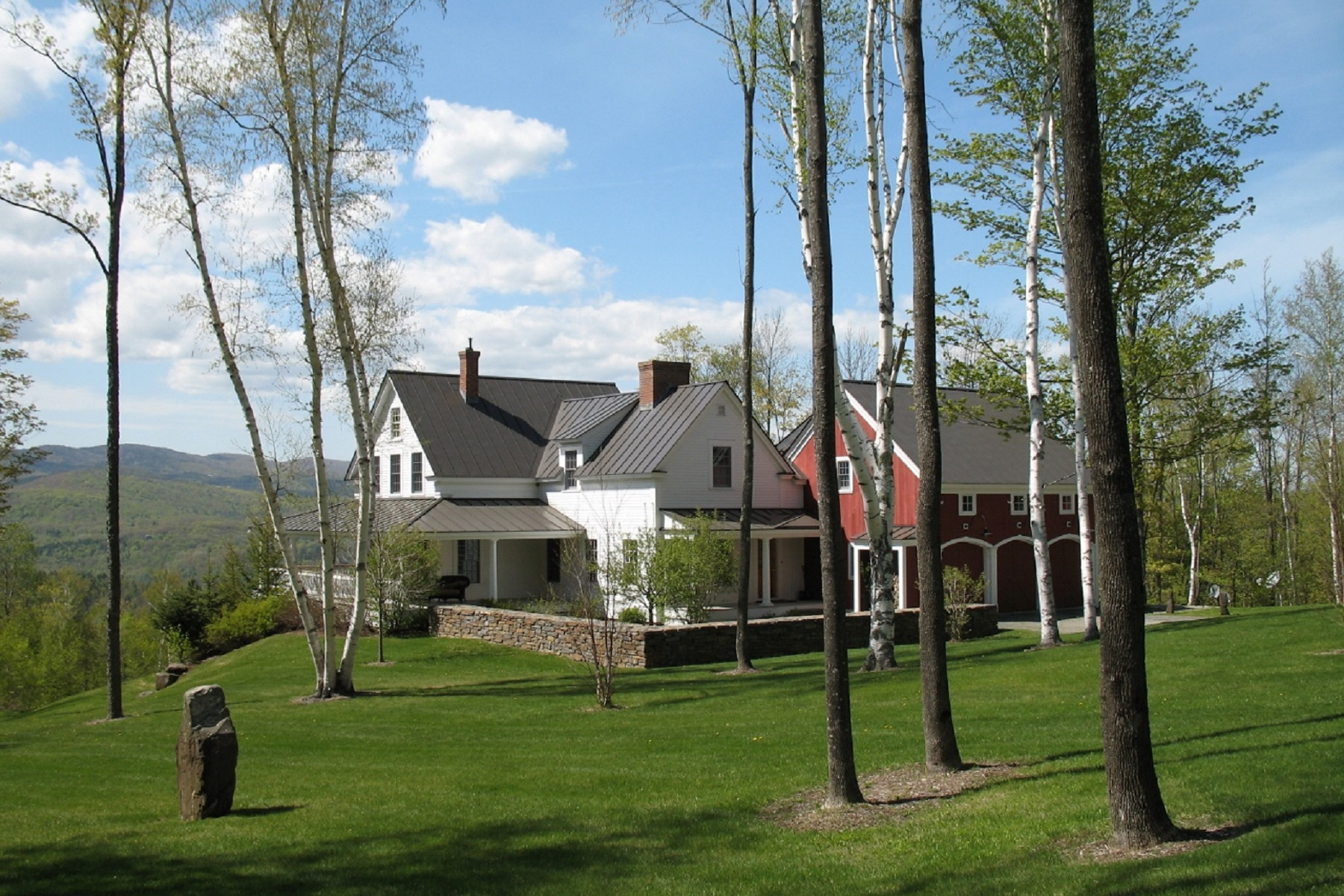 Single Family Home for Sale at Sweeping Views Over Woodstock 779 Peterkin Hill Road Woodstock, Vermont, 05091 United States