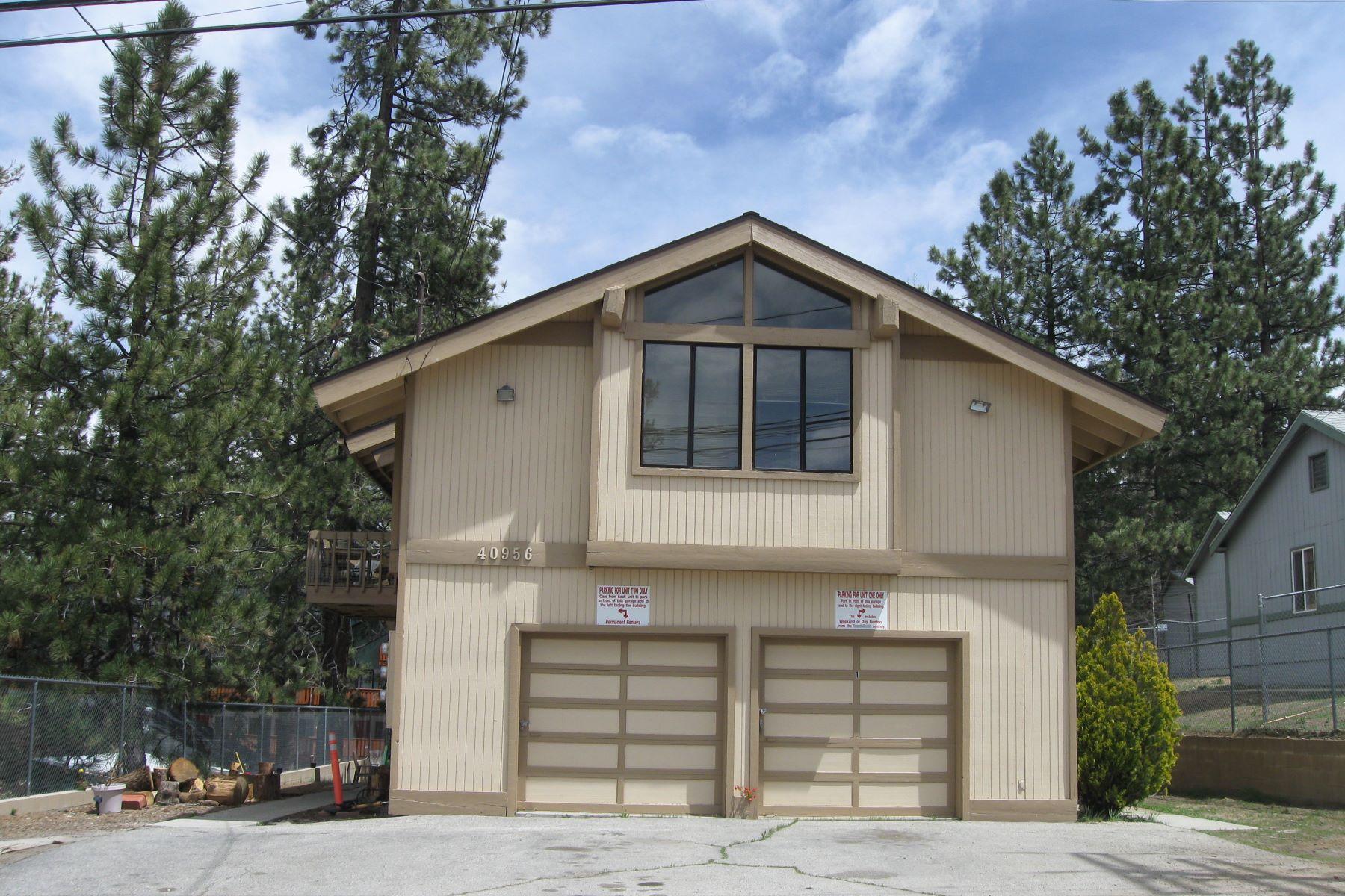 多户住宅 为 销售 在 40956 Pennsylvania, Big bear Lake Ca. 92315 大熊湖, 加利福尼亚州, 92315 美国