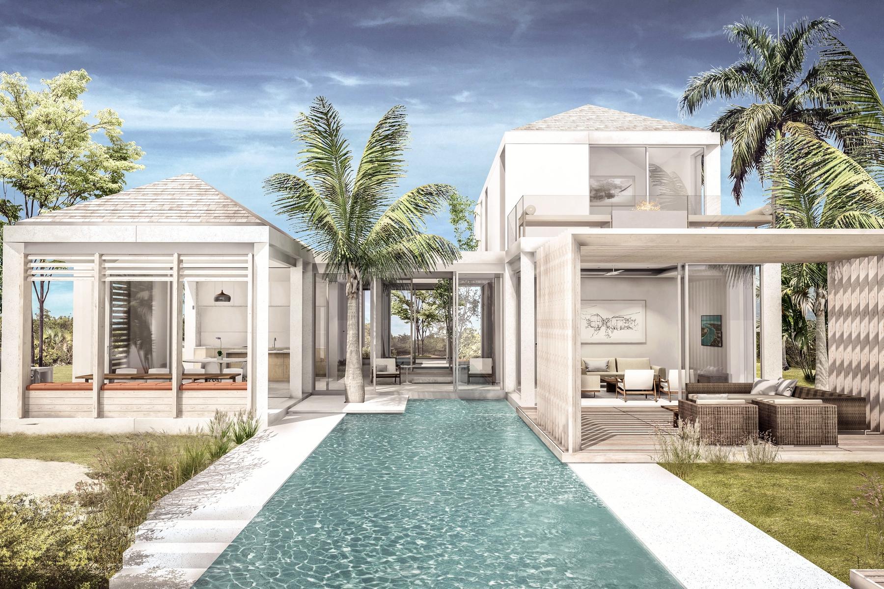 独户住宅 为 销售 在 Courtyard Canalfront Lot 10 Blue Cay Estate, Leeward, 普罗维登夏 特克斯和凯科斯群岛