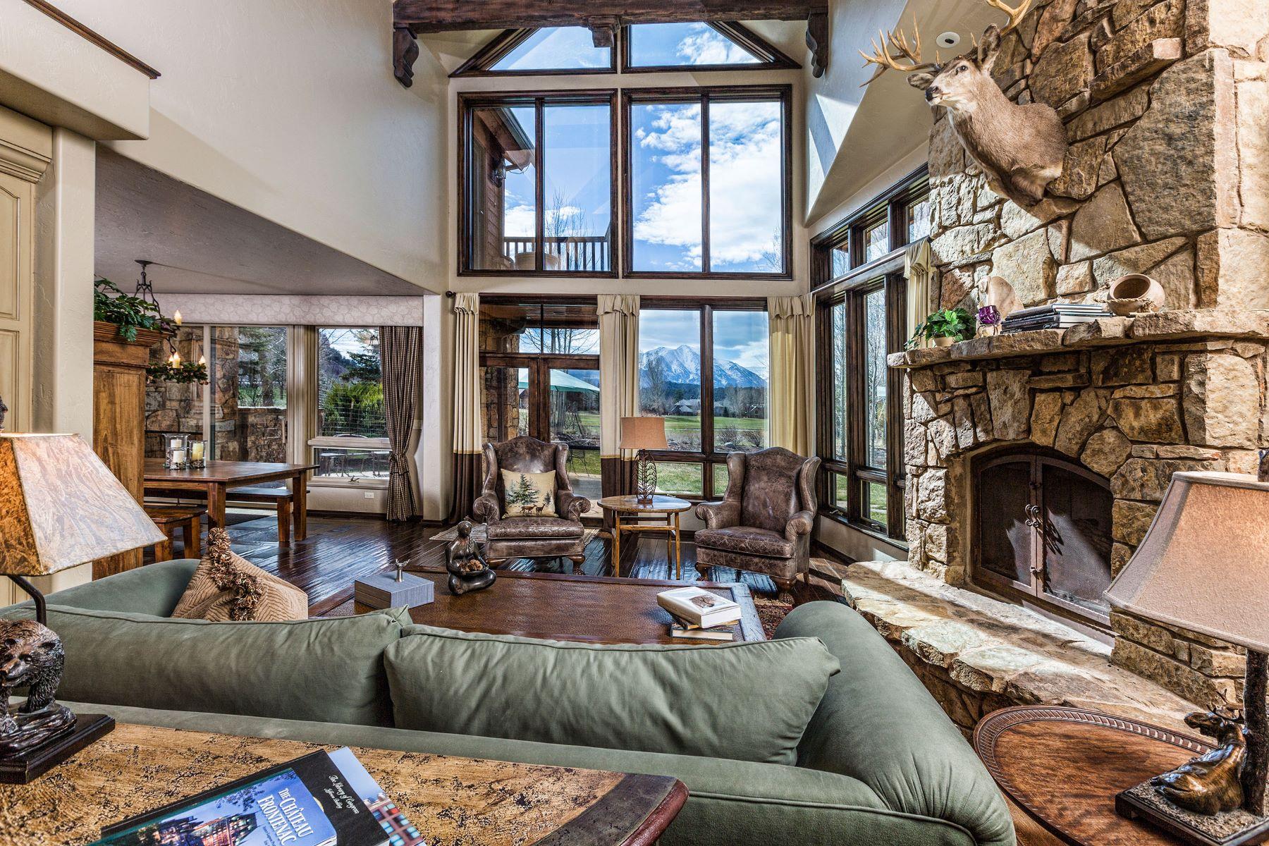 Maison accolée pour l Vente à Spacious Townhome with Unobstructed Mountain Views 98 Sweetgrass Road #B Carbondale, Colorado, 81623 États-Unis