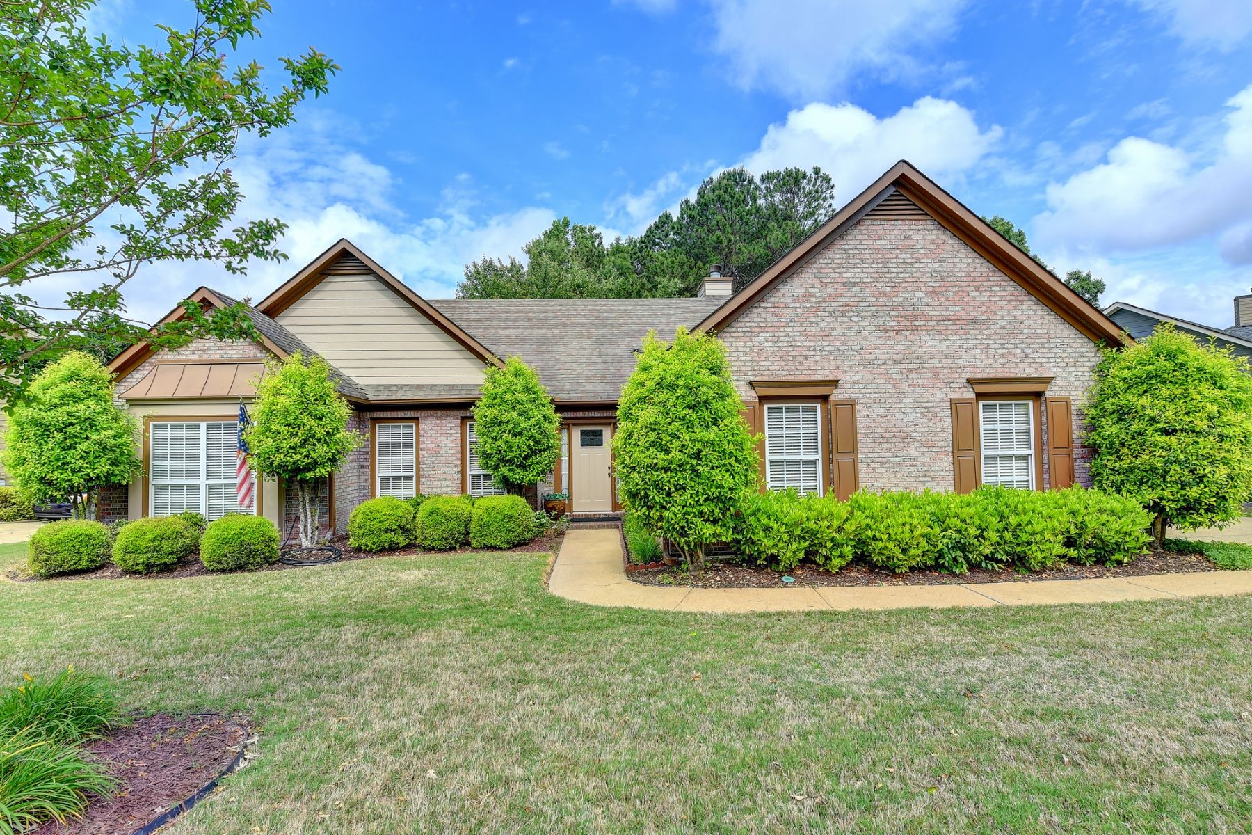 Single Family Homes for Sale at Charming Brick Ranch In Sought After Buford! 3120 Goldmist Drive Buford, Georgia 30519 United States