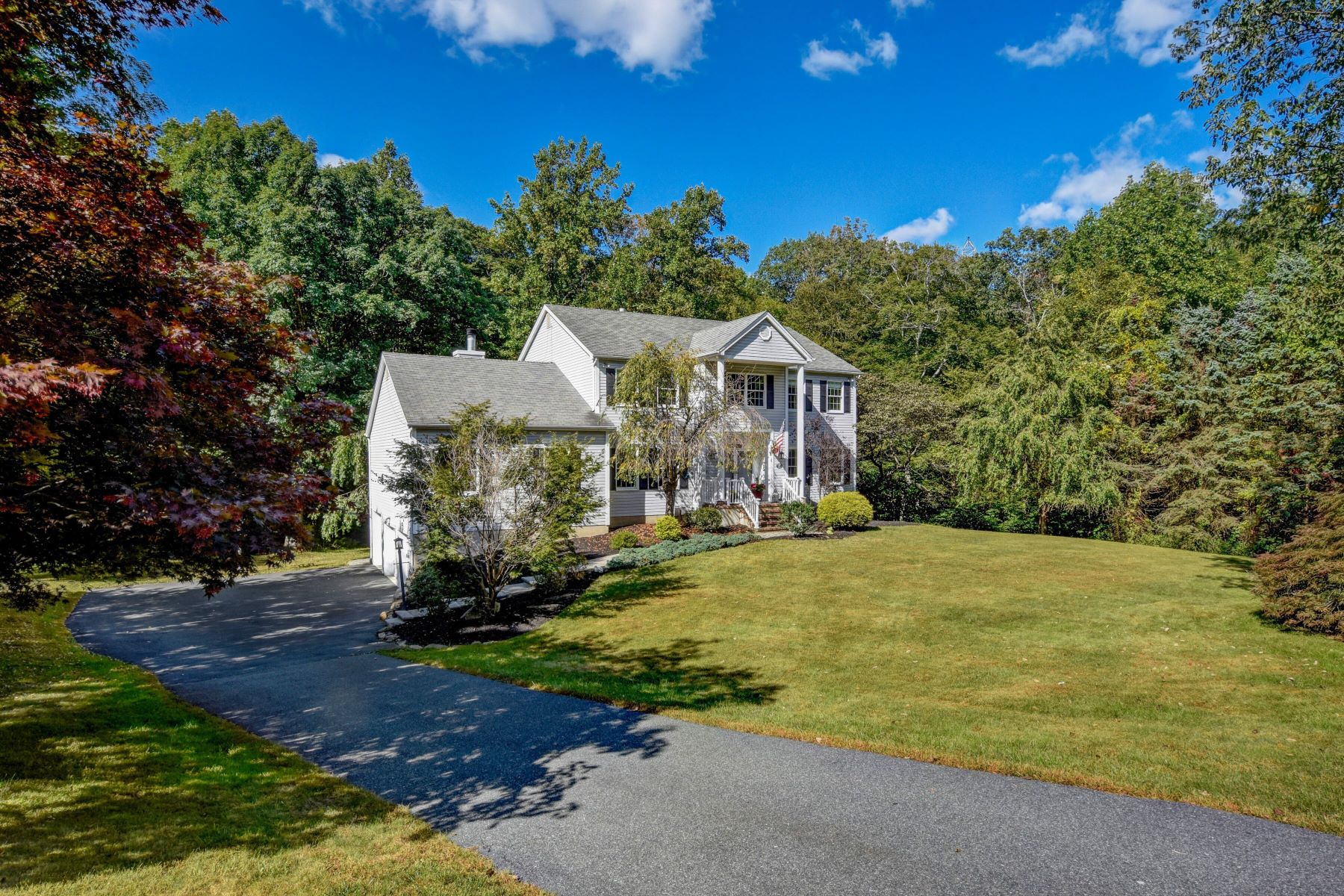 Single Family Homes for Sale at Traditional Center Hall Colonial 34 Wilkeshire Blvd Randolph, New Jersey 07869 United States
