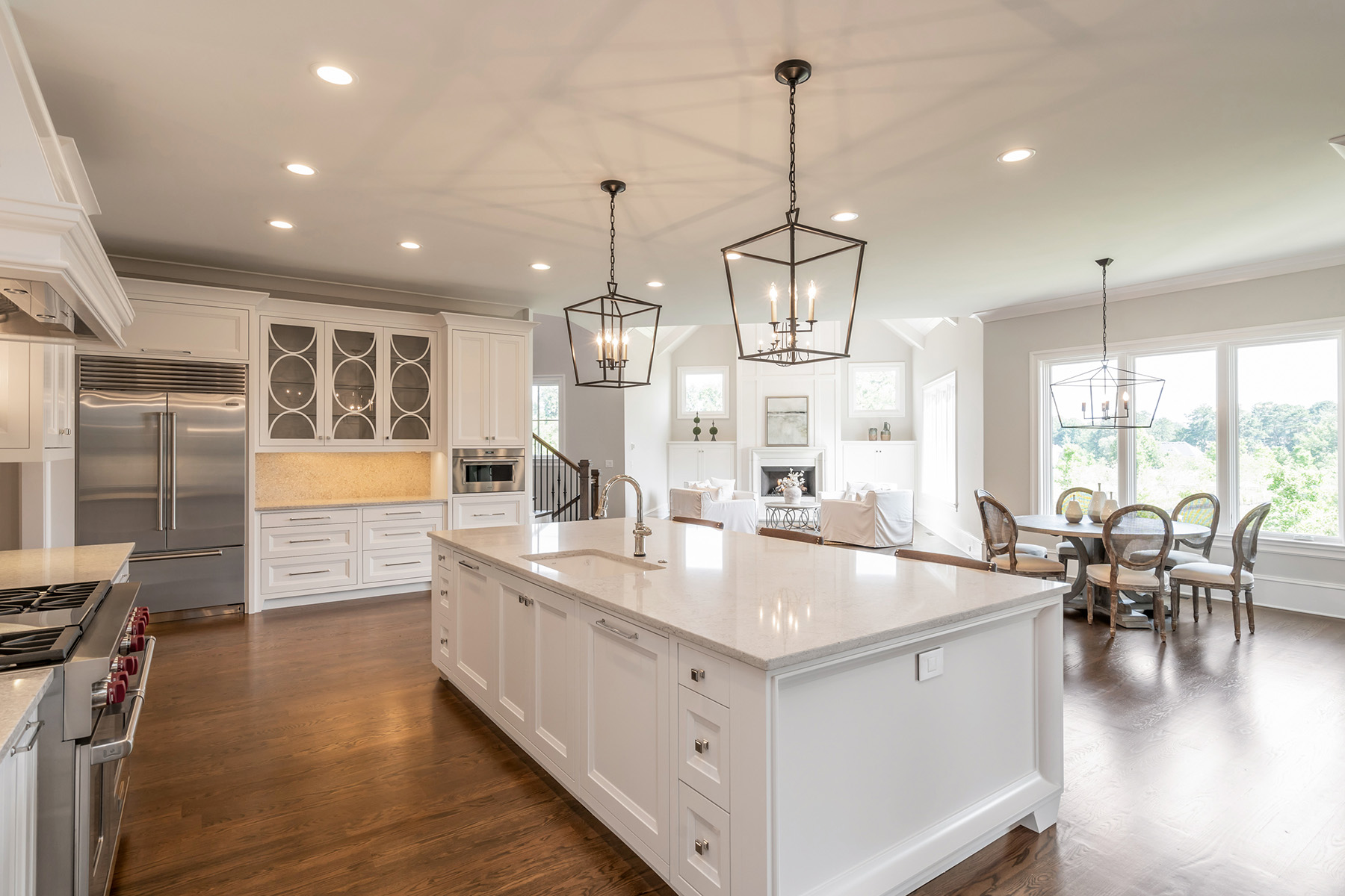 Single Family Homes for Sale at Spectacularly Appointed New Construction In Gated Community 10140 Cedar Ridge Drive Milton, Georgia 30004 United States