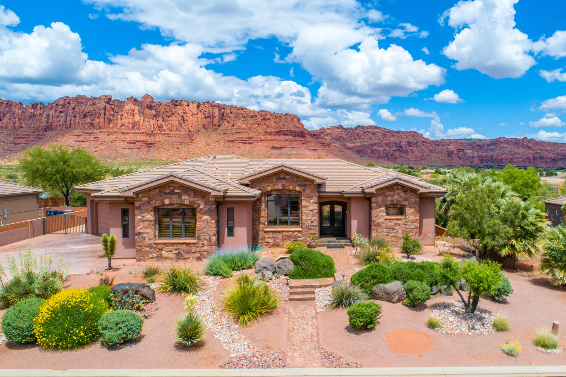 Single Family Homes for Active at Covated Citadel 294 N Painted Hills Dr Ivins, Utah 84738 United States