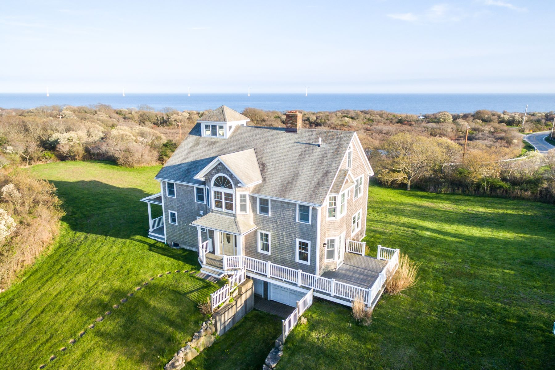 single family homes for Sale at Mohegan Cottage 1671 Mohegan Trail, Block Island, Rhode Island 02807 United States