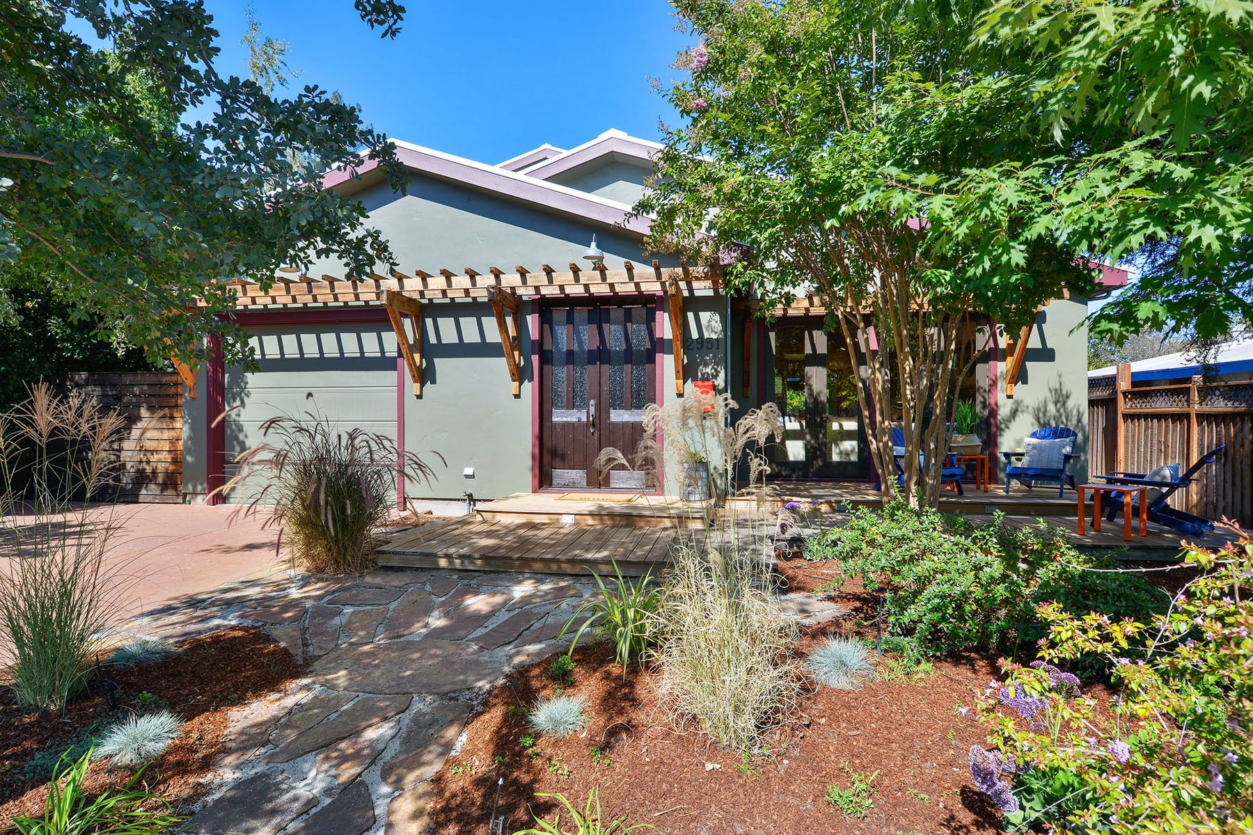 Single Family Homes for Sale at Rustic Modern in Midtown Palo Alto 2951 Bryant Street Palo Alto, California 94306 United States