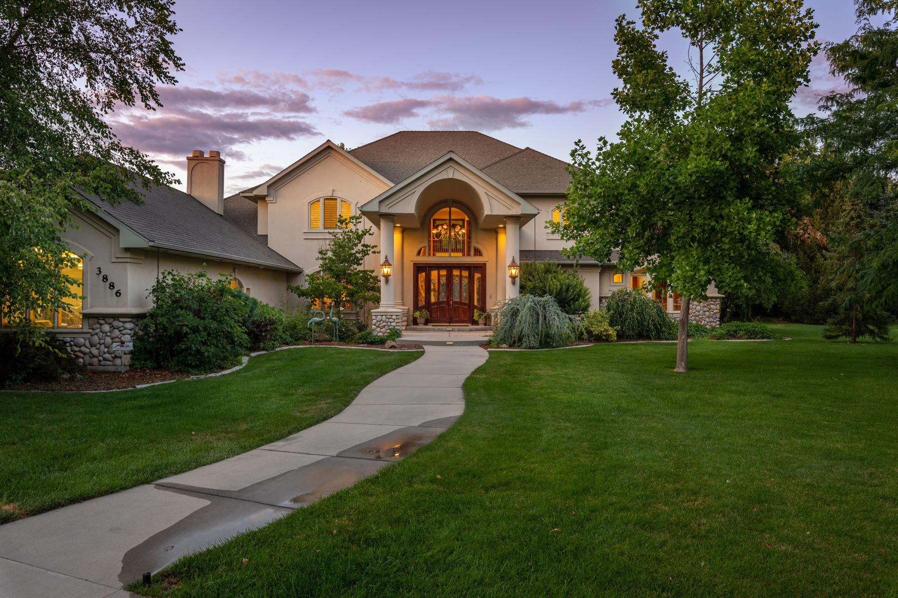 Single Family Homes pour l Vente à 3886 Houseland Court, Eagle 3886 W Houseland Ct Eagle, Idaho 83616 États-Unis