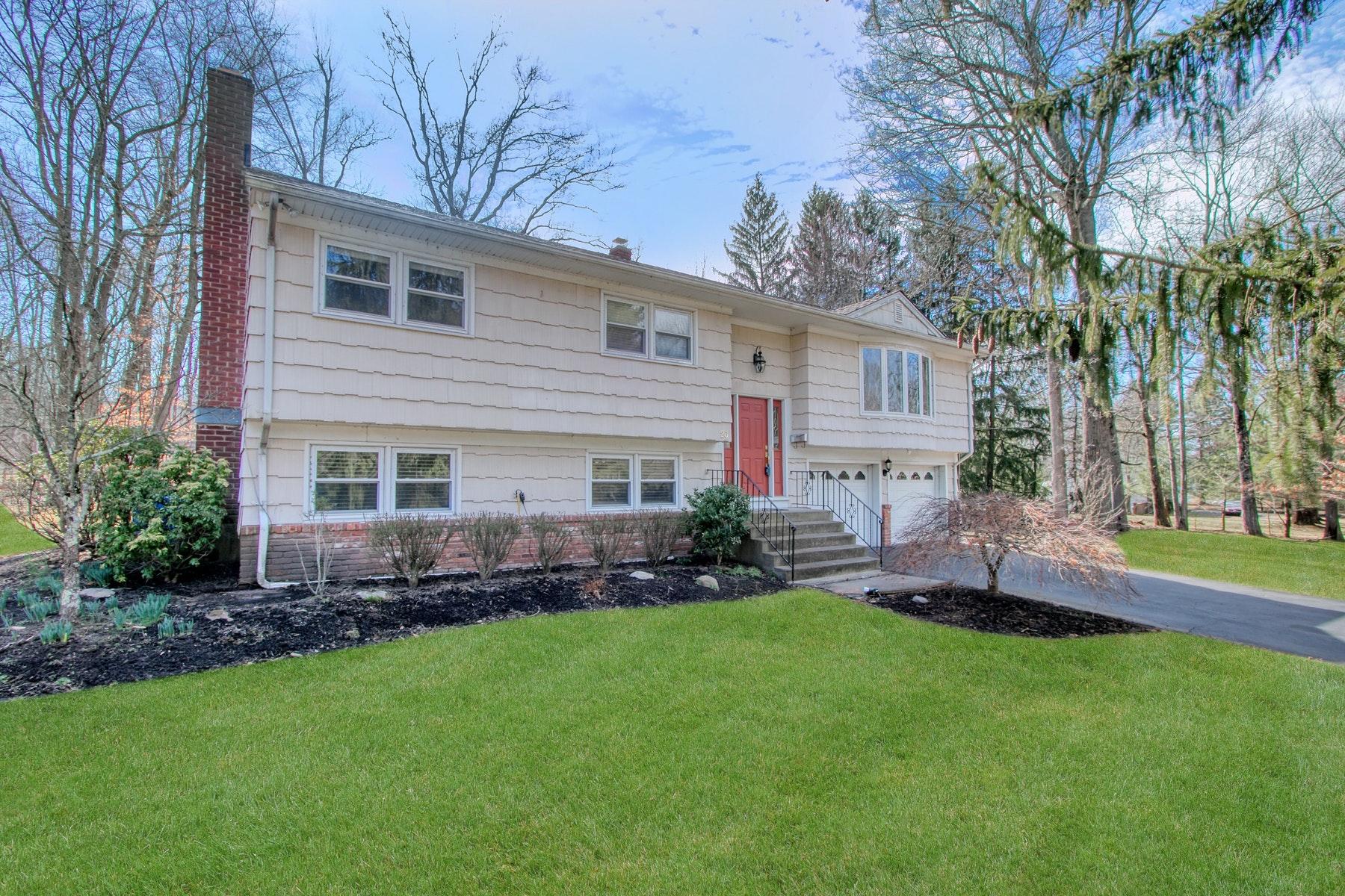 Single Family Homes 為 出售 在 Bi-Level in Quiet Setting 26 Milton Grant Drive, Blauvelt, 纽约 10913 美國