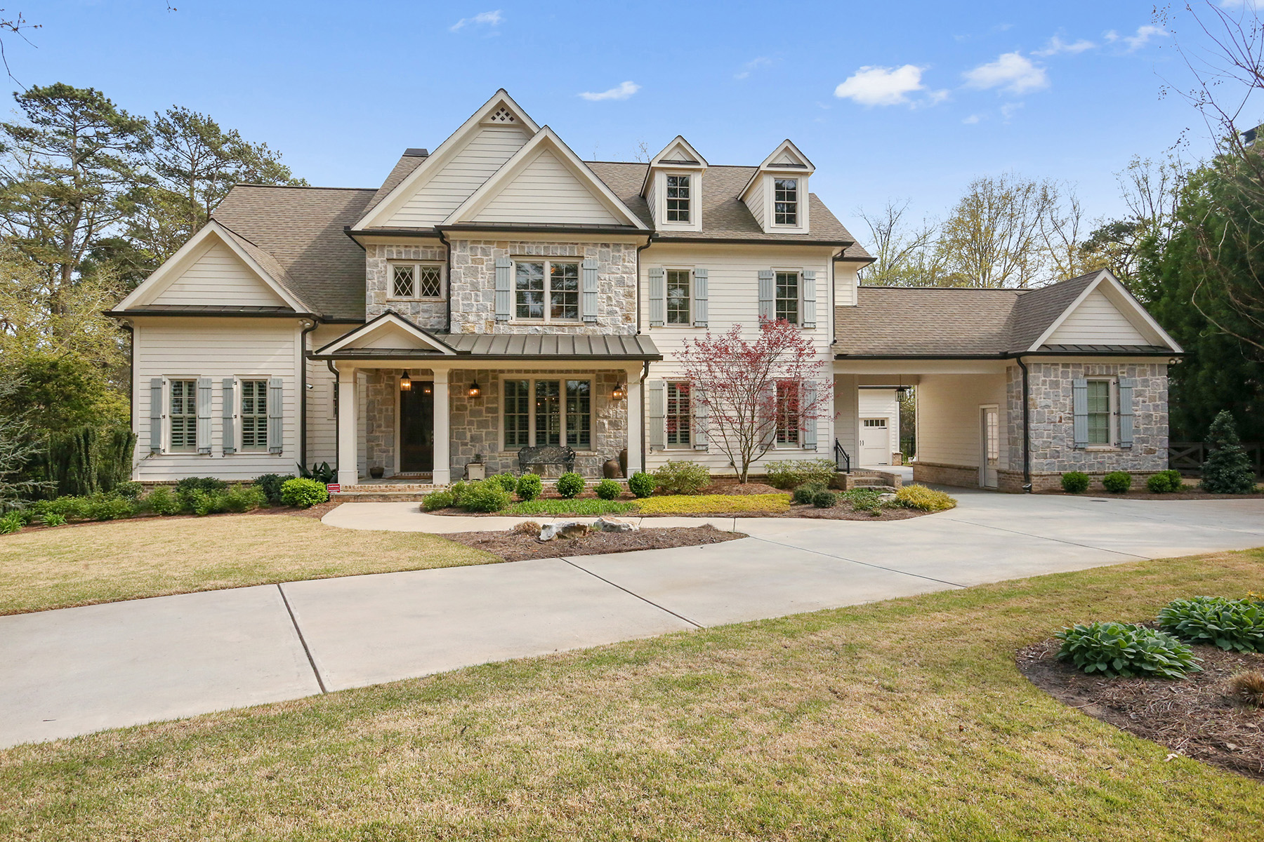 Single Family Home for Sale at Light-Filled, Casually Elegant Buckhead Home 744 Moores Mill Road Atlanta, Georgia 30327 United States