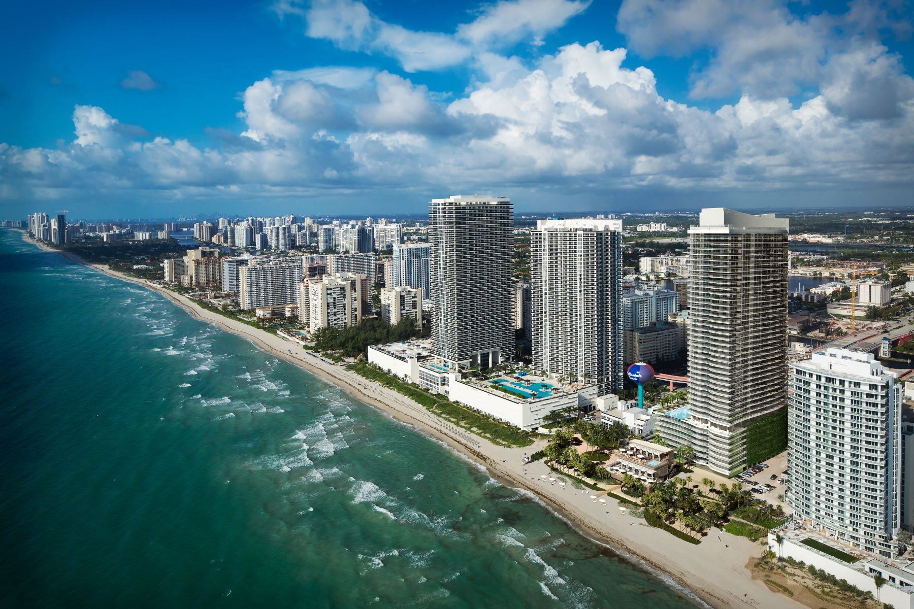 Condominium for Sale at HYDE BEACH HOLLYWOOD 4111 S OCEAN DR #2205 Hollywood, Florida 33019 United States