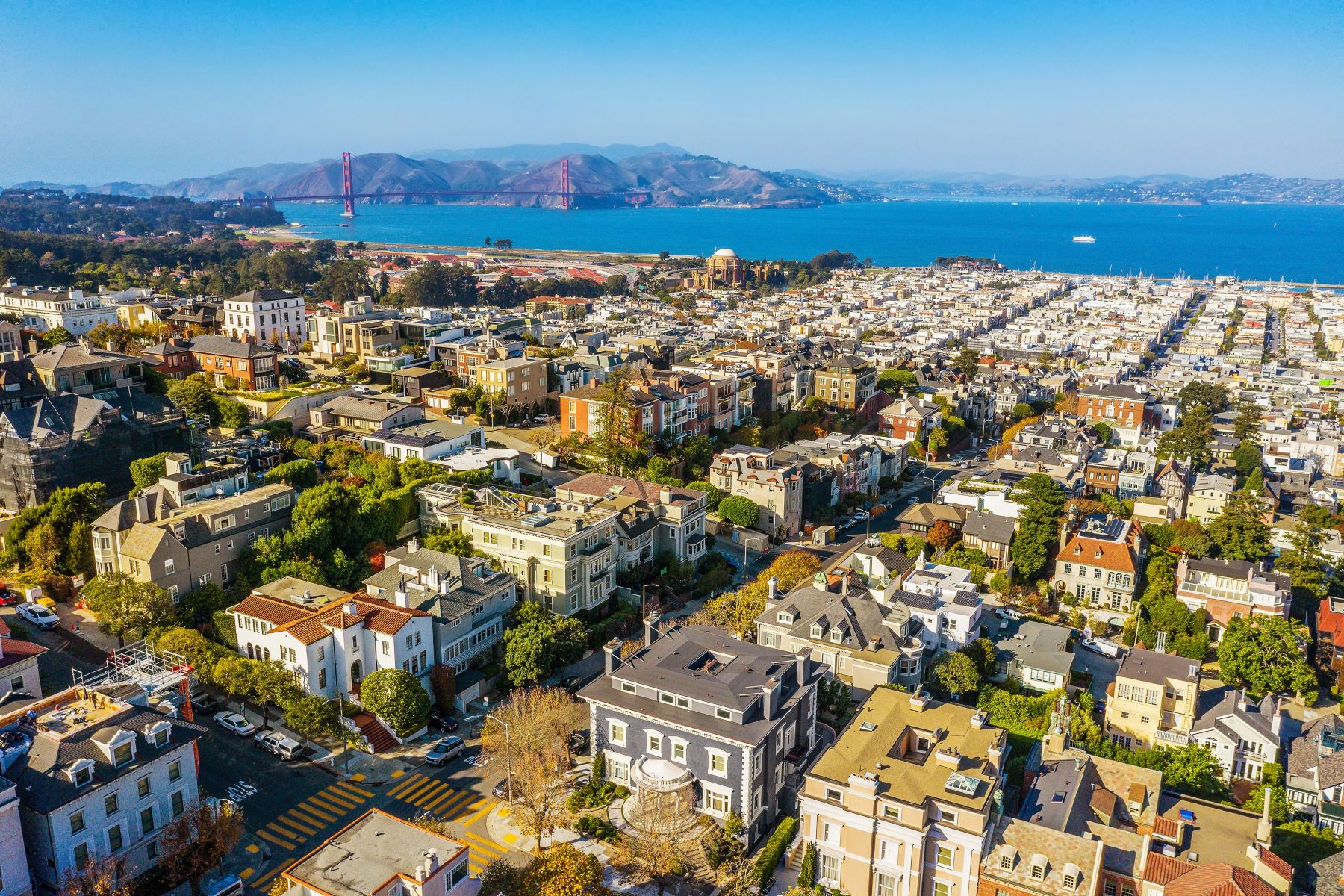 Single Family Homes for Active at Timeless And Glamours Pacific Heights Designer Masterpiece 2698 Pacific Avenue San Francisco, California 94115 United States