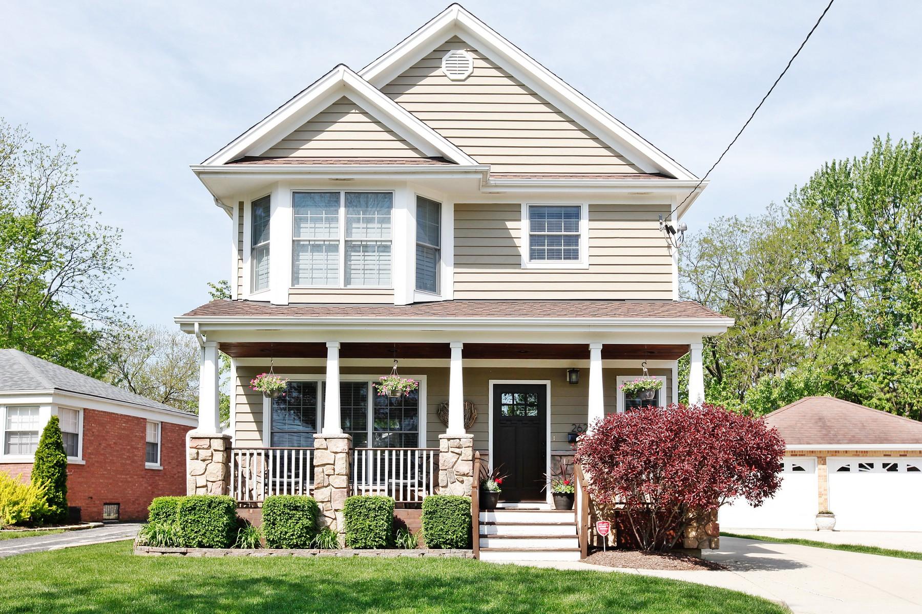 Casa Unifamiliar por un Venta en 262 Newton Ave. Glen Ellyn, Illinois, 60137 Estados Unidos