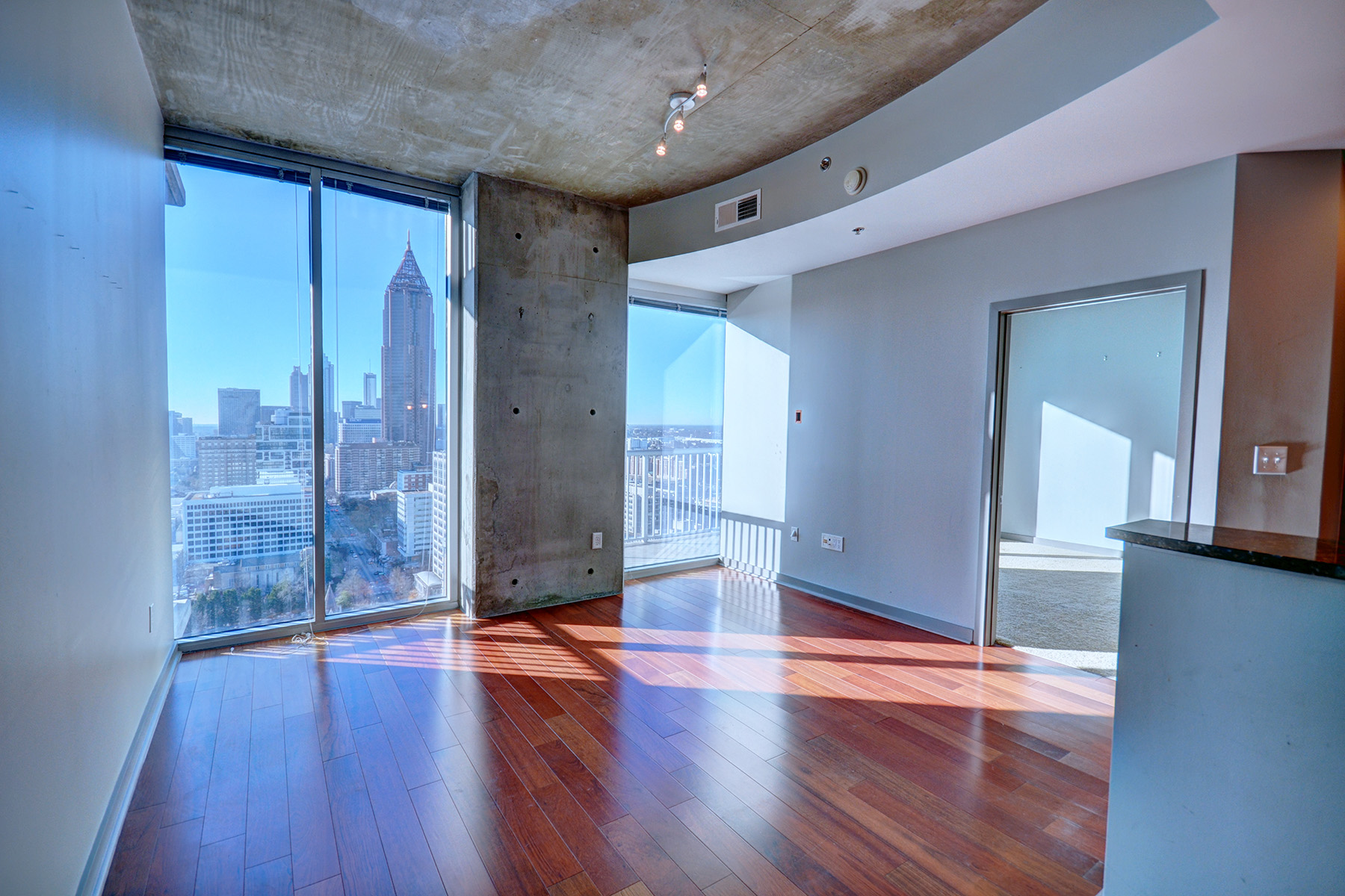 Condominium for Sale at Two Bedroom Condo in Viewpoint with Beautiful Skyline Views 855 Peachtree Street NE No. 2707 Atlanta, Georgia 30308 United States