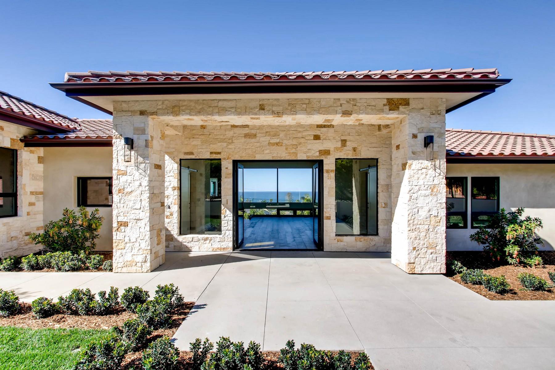 Частный односемейный дом для того Продажа на 1222 Muirlands Vista Way La Jolla, Калифорния, 92037 Соединенные Штаты