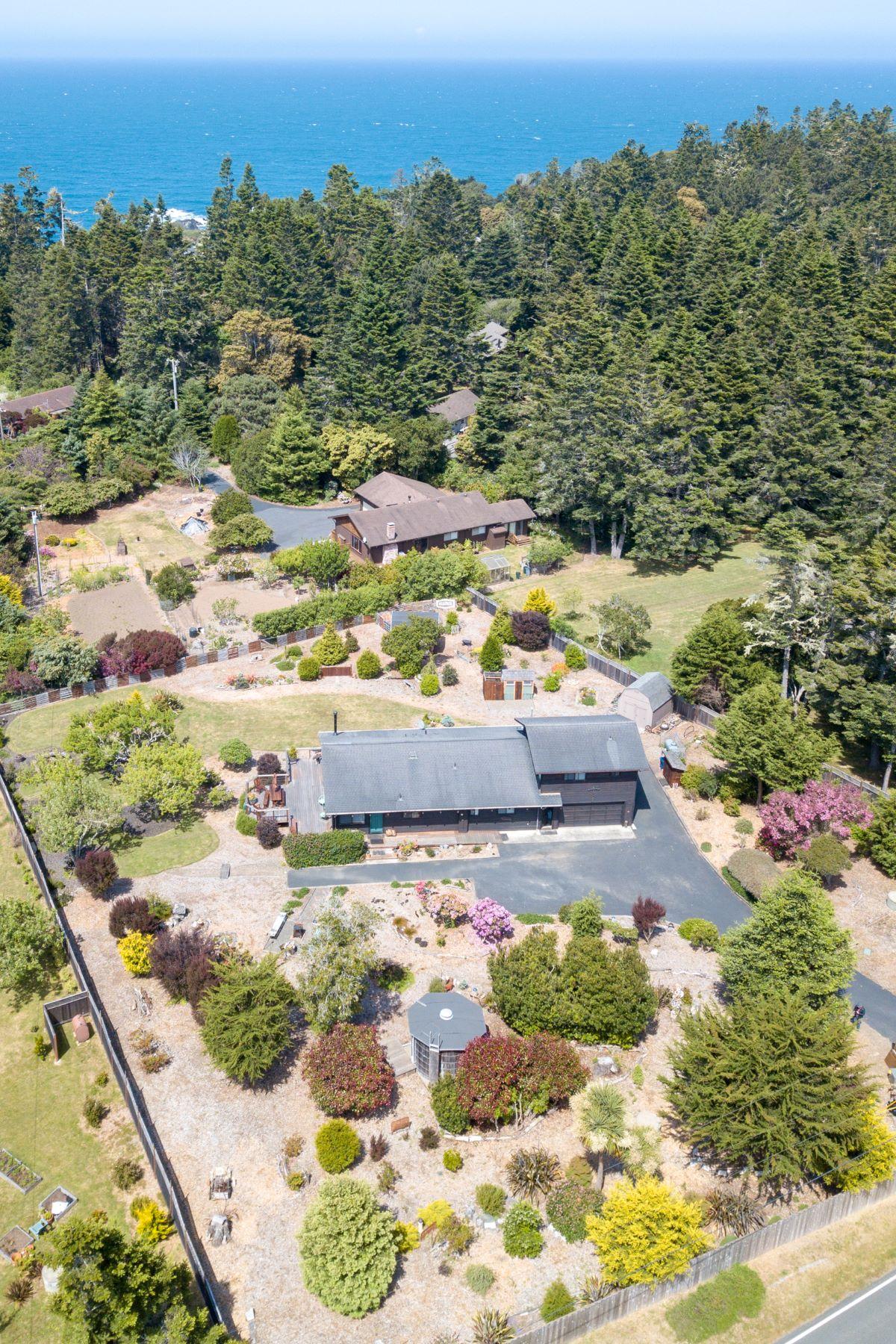 Single Family Home for Sale at Mendocino Coastal Home 13150 Point Cabrillo Drive Mendocino, California 95460 United States