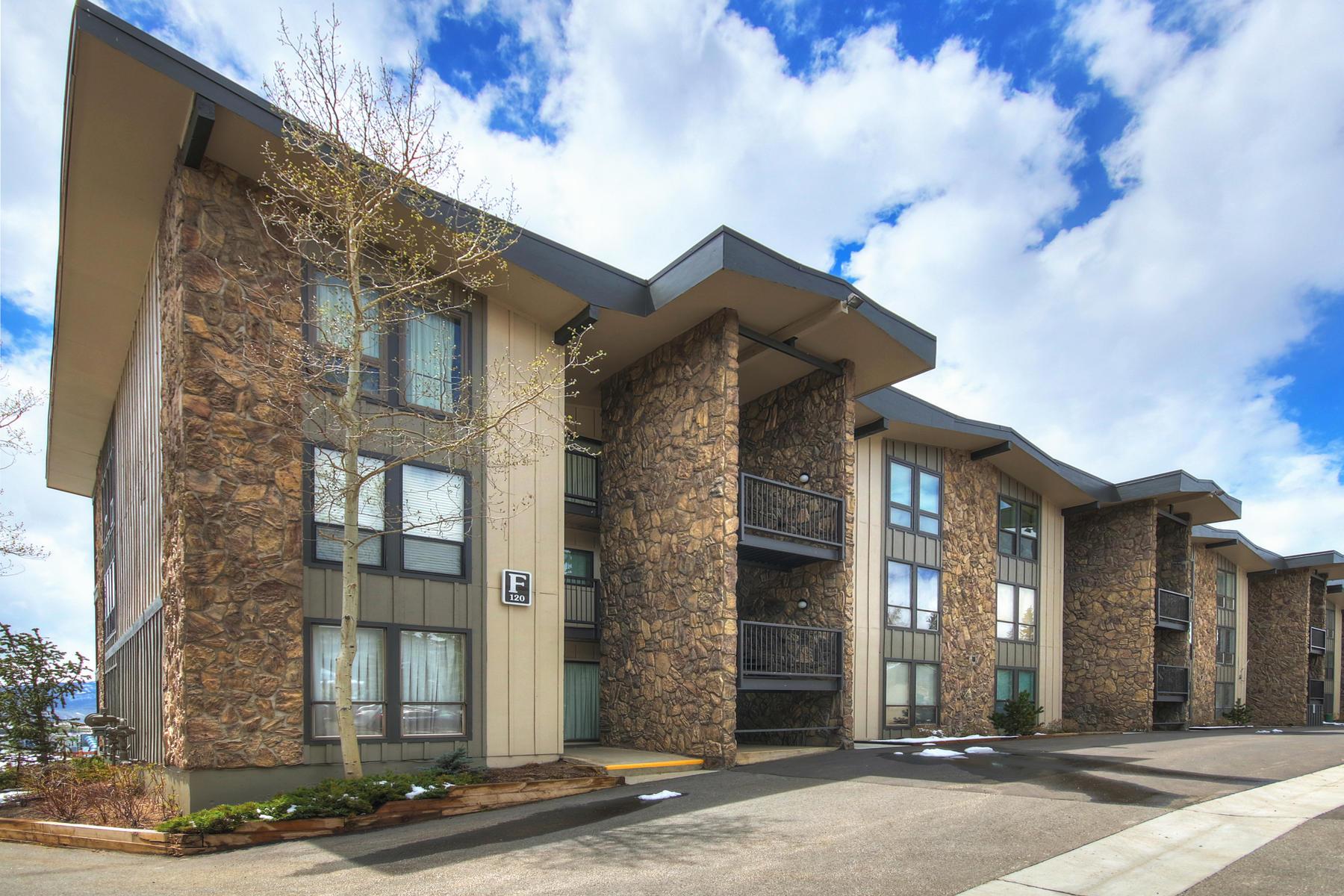 Condominiums για την Πώληση στο Lake Cliffe Condo 120 E La Bonte Street #F 301, Dillon, Κολοραντο 80435 Ηνωμένες Πολιτείες