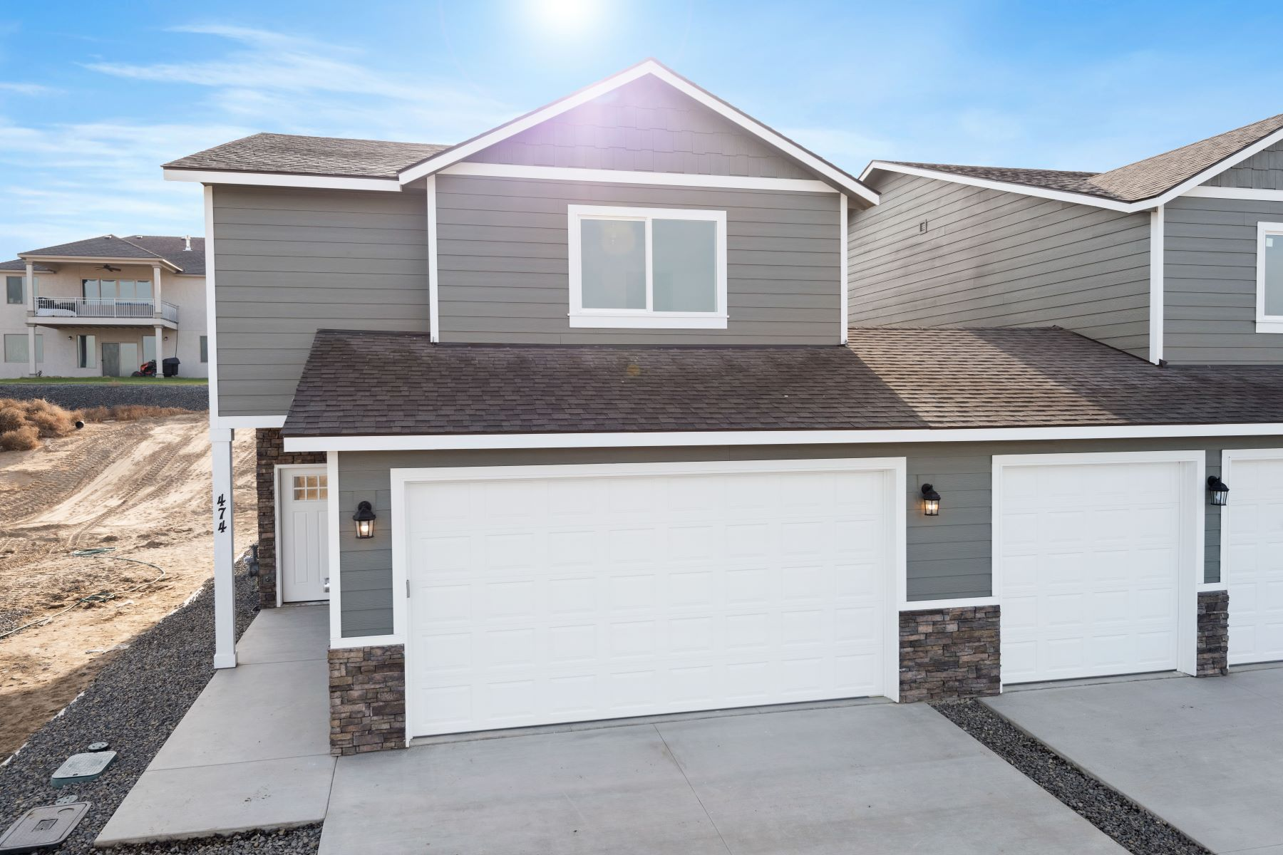townhouses for Sale at New townhome community with views! 462 Bedrock Loop, West Richland, Washington 99353 United States
