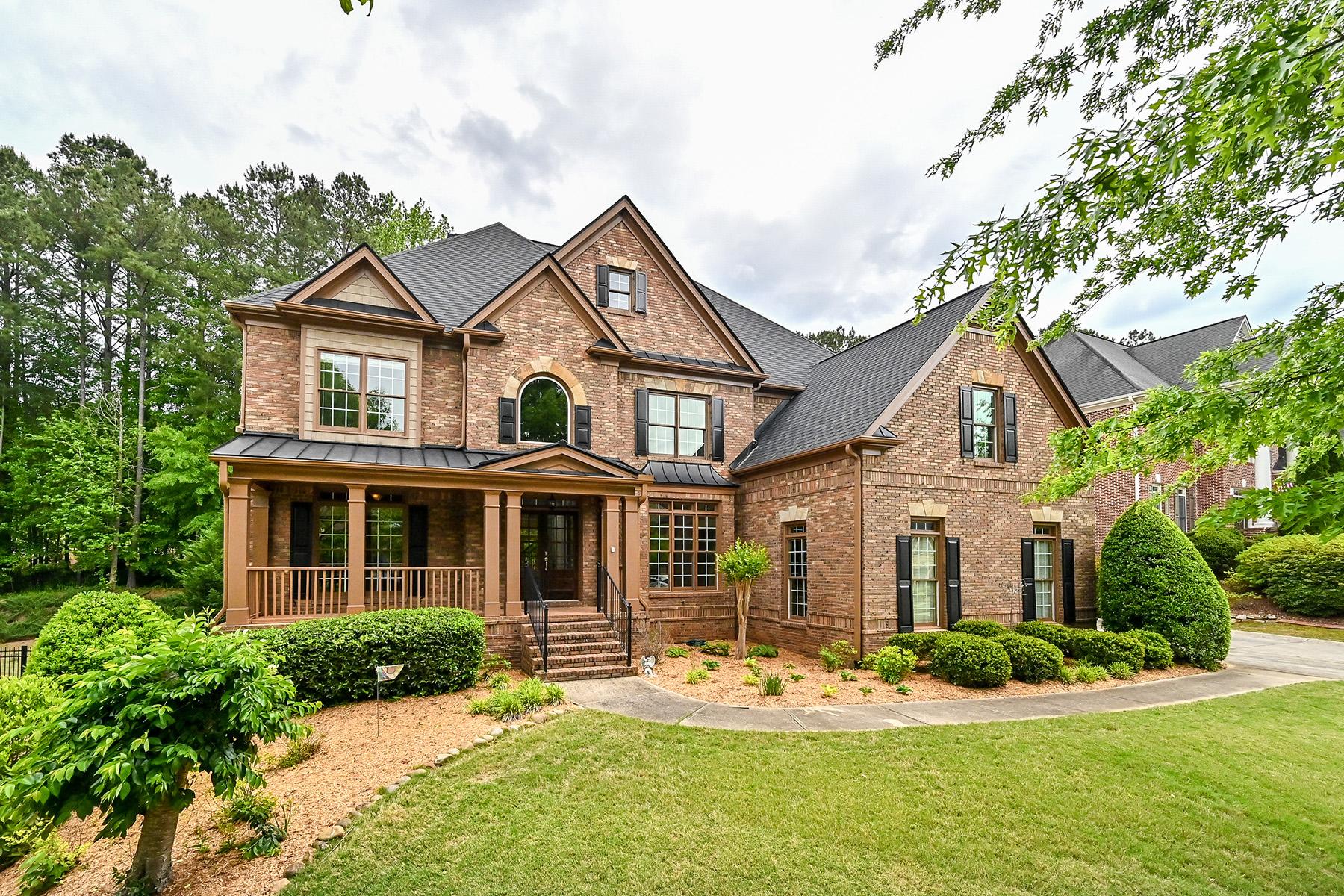 Single Family Homes por un Venta en Twelfth-Hole Living in Brookstone 1616 Fernstone Drive, Acworth, Georgia 30101 Estados Unidos