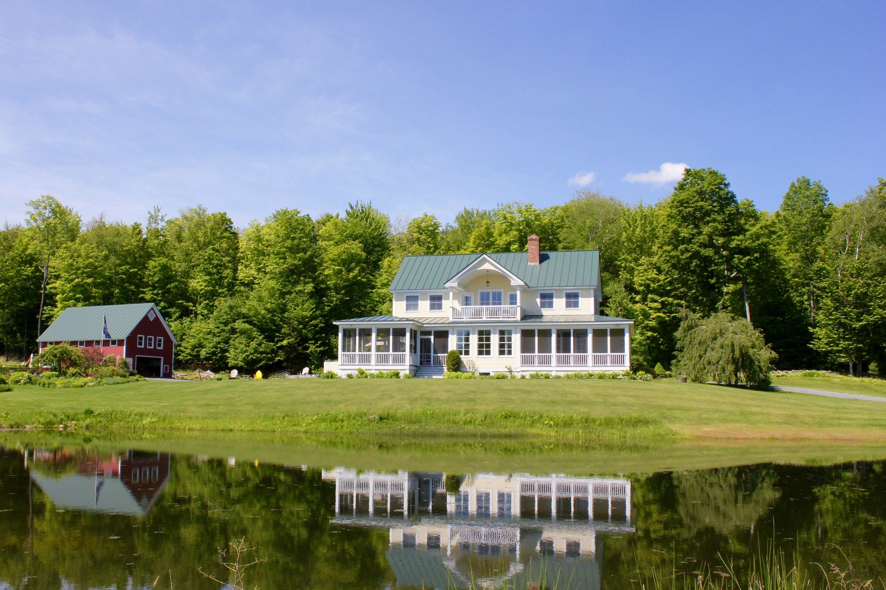 single family homes for Sale at South Hill Hideaway 93 Godfrey Rd Ludlow, Vermont 05149 United States