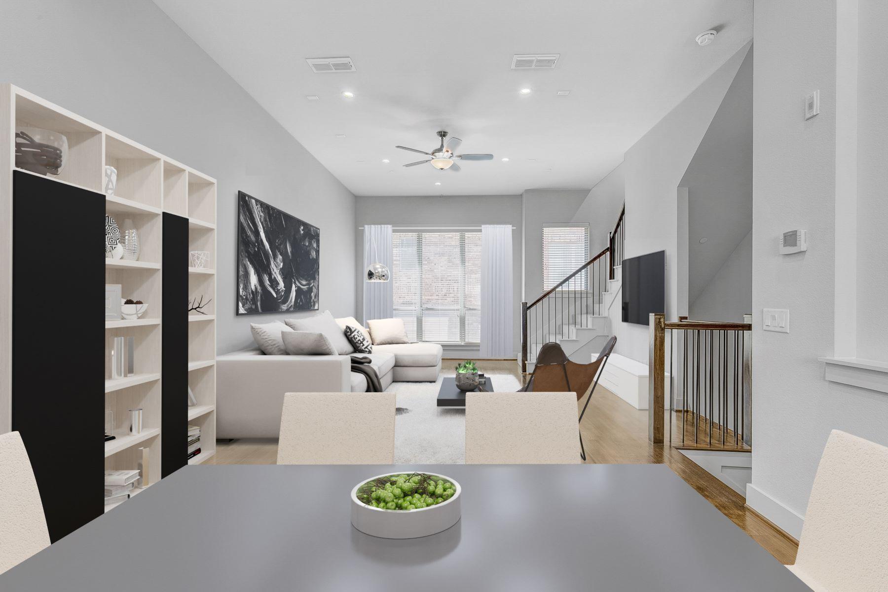 Condominiums por un Venta en Las Colinas 3-Story Condo with Rooftop Deck 101 Decker Court #504, Irving, Texas 75062 Estados Unidos