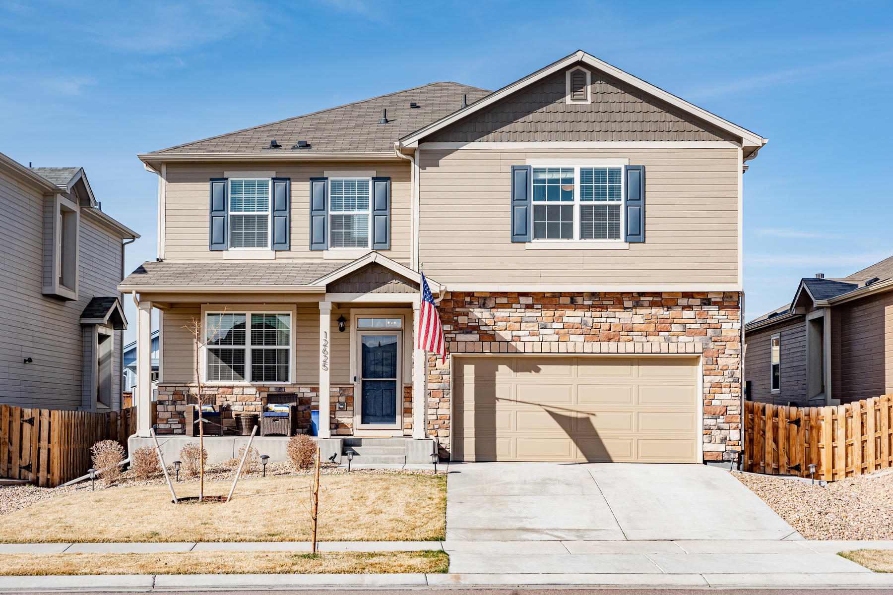 Single Family Homes for Sale at You Will Flip Over the Custom Upgrades 12625 E 104th Place Commerce City, Colorado 80022 United States