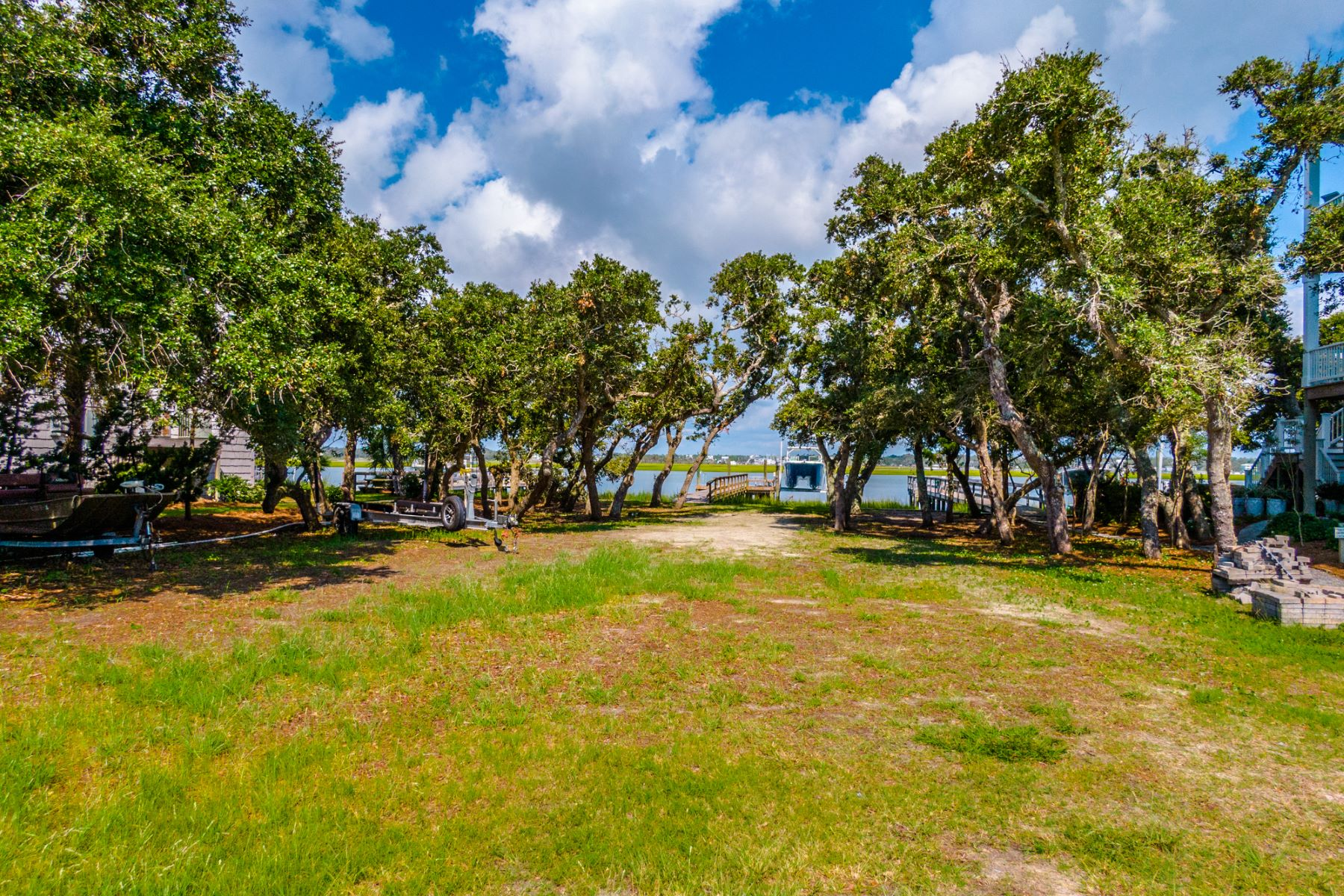 Land for Active at Sound Front Lot Located In Private Neighborhood 109 Oleander Court Surf City, North Carolina 28445 United States