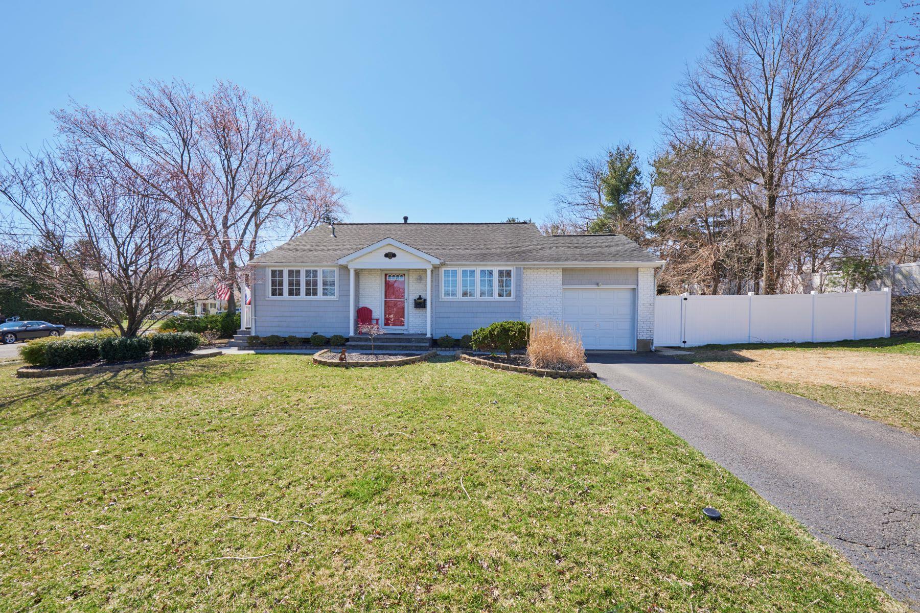 Частный односемейный дом для того Продажа на 1 Louise Court, Hazlet Hazlet, Нью-Джерси 07730 Соединенные Штаты
